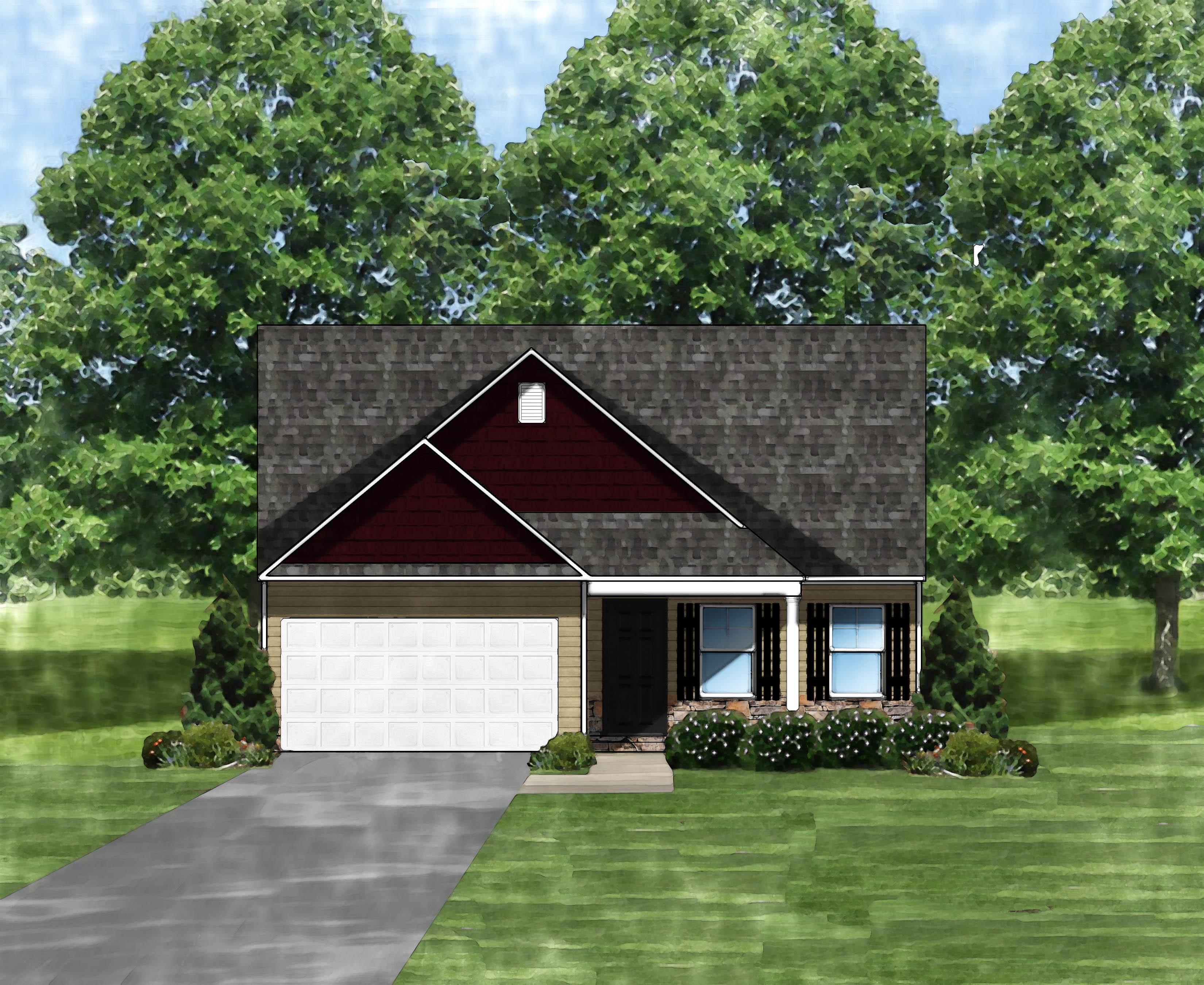 Exterior featured in the Buckley II C By Great Southern Homes in Columbia, SC