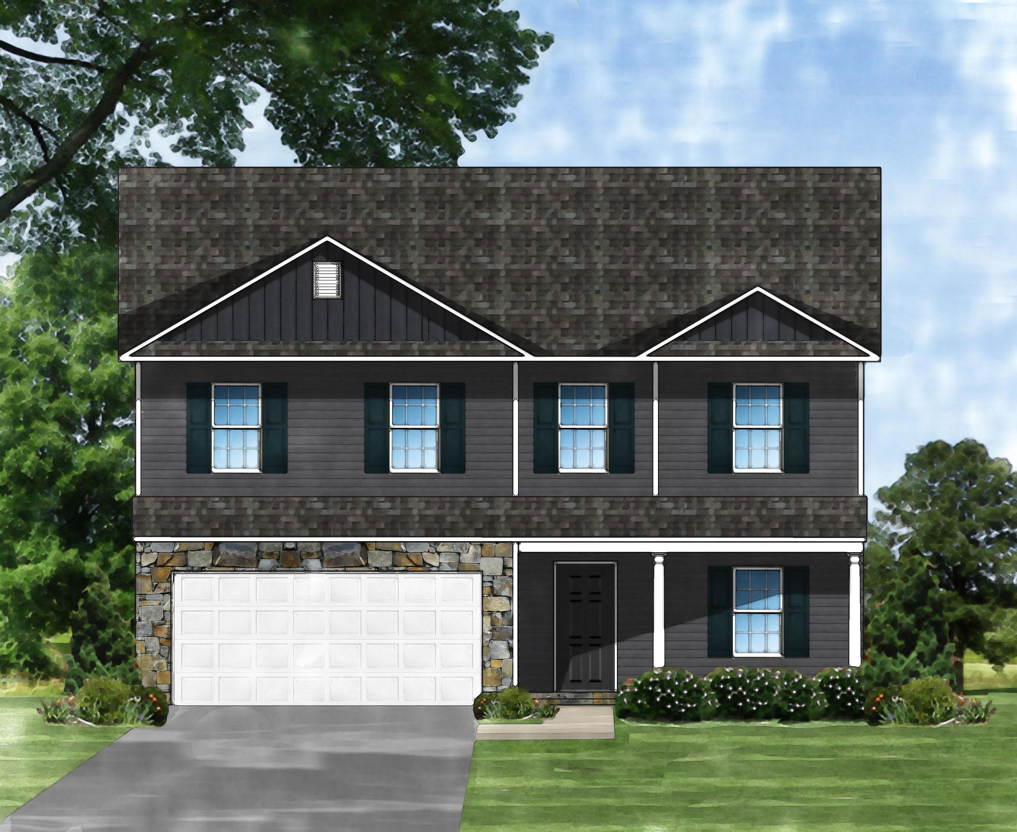 Exterior featured in the Davenport II B By Great Southern Homes in Columbia, SC