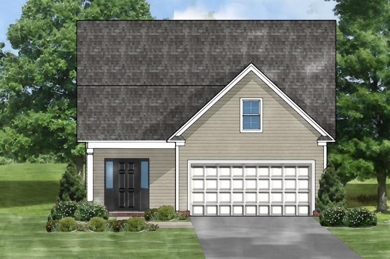 Exterior featured in the Sabel A By Great Southern Homes in Greenville-Spartanburg, SC