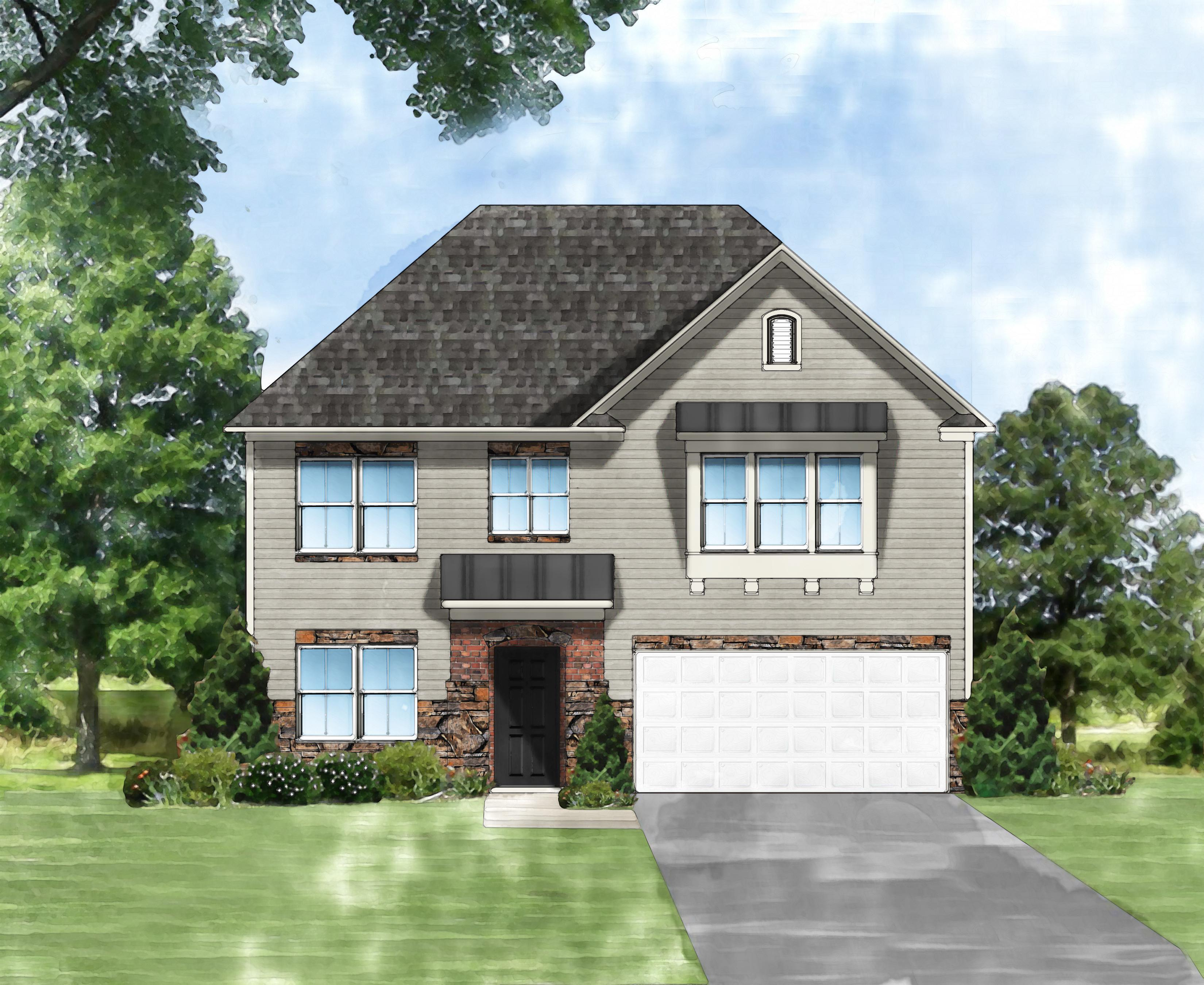 Exterior featured in the Porter II E By Great Southern Homes in Greenville-Spartanburg, SC