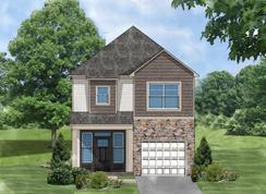 Laurel D - Highland Park: Easley, South Carolina - Great Southern Homes