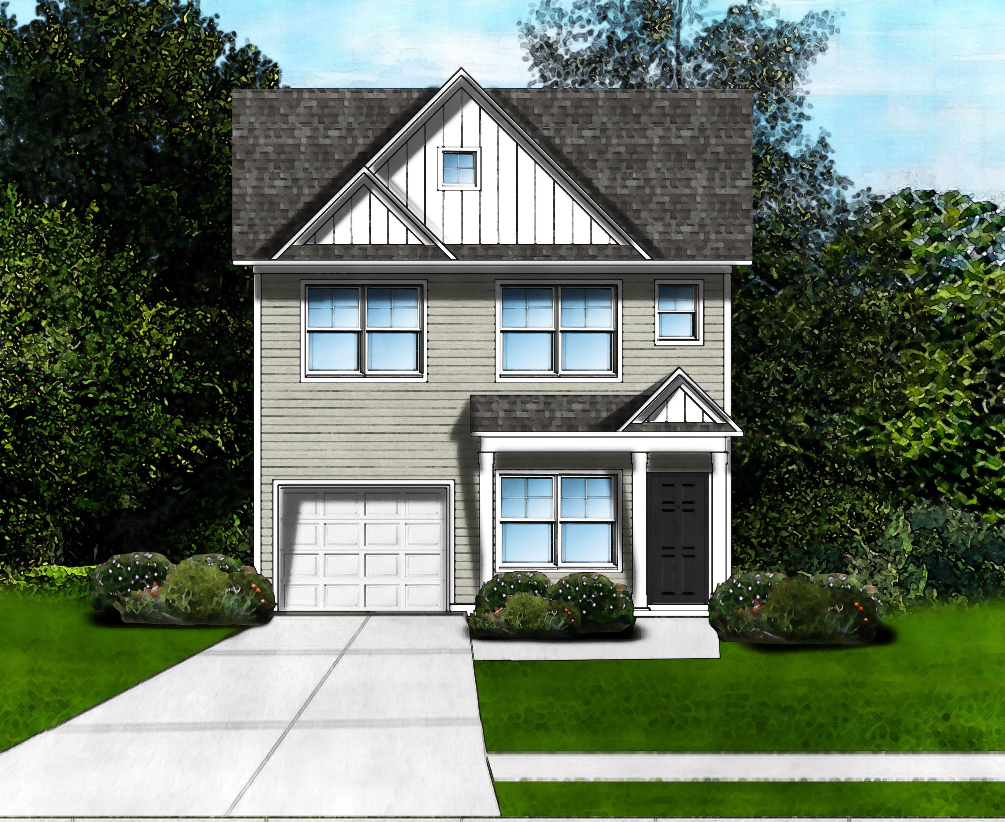 Exterior featured in the Hillcrest C By Great Southern Homes in Greenville-Spartanburg, SC