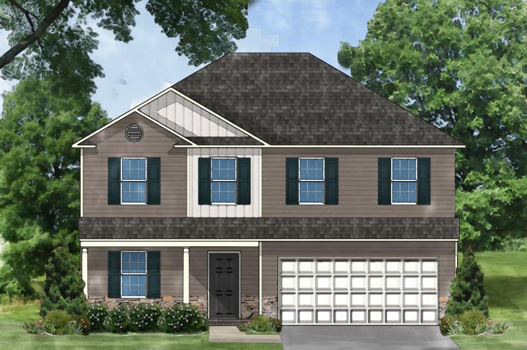 Exterior featured in the Davenport D By Great Southern Homes in Florence, SC