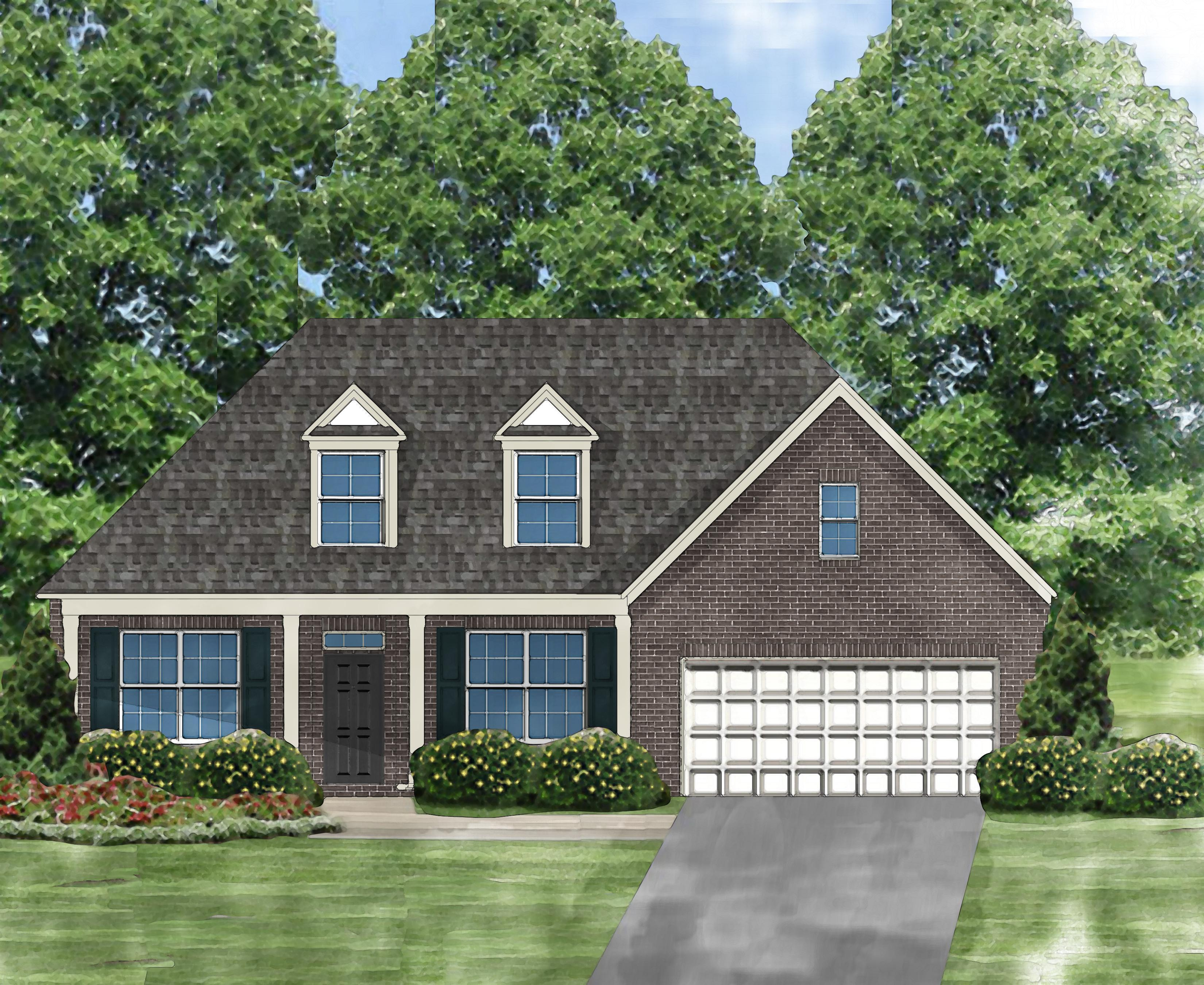 Exterior featured in the Gardenia B By Great Southern Homes in Greenville-Spartanburg, SC