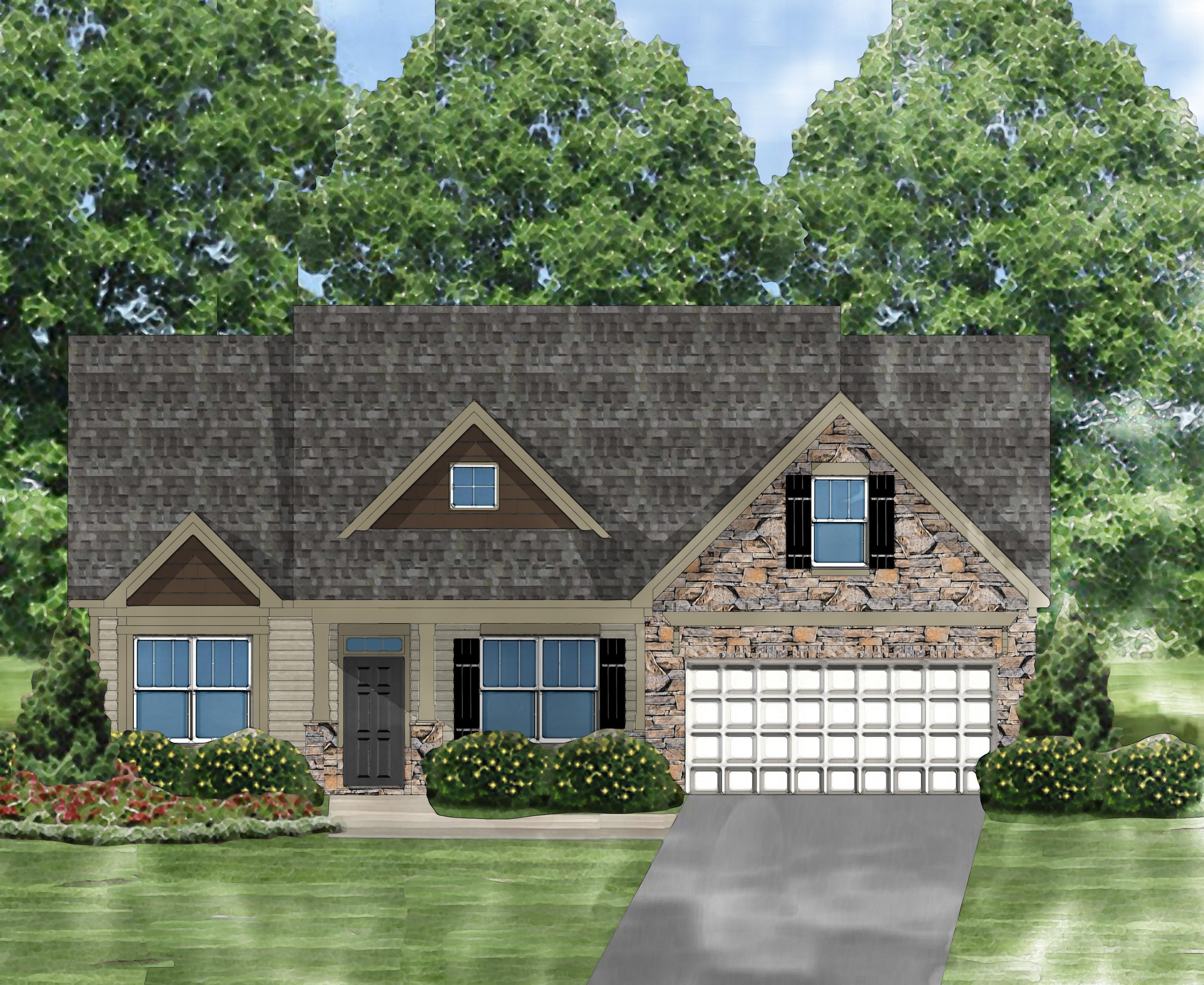 Exterior featured in the Gardenia D By Great Southern Homes in Columbia, SC