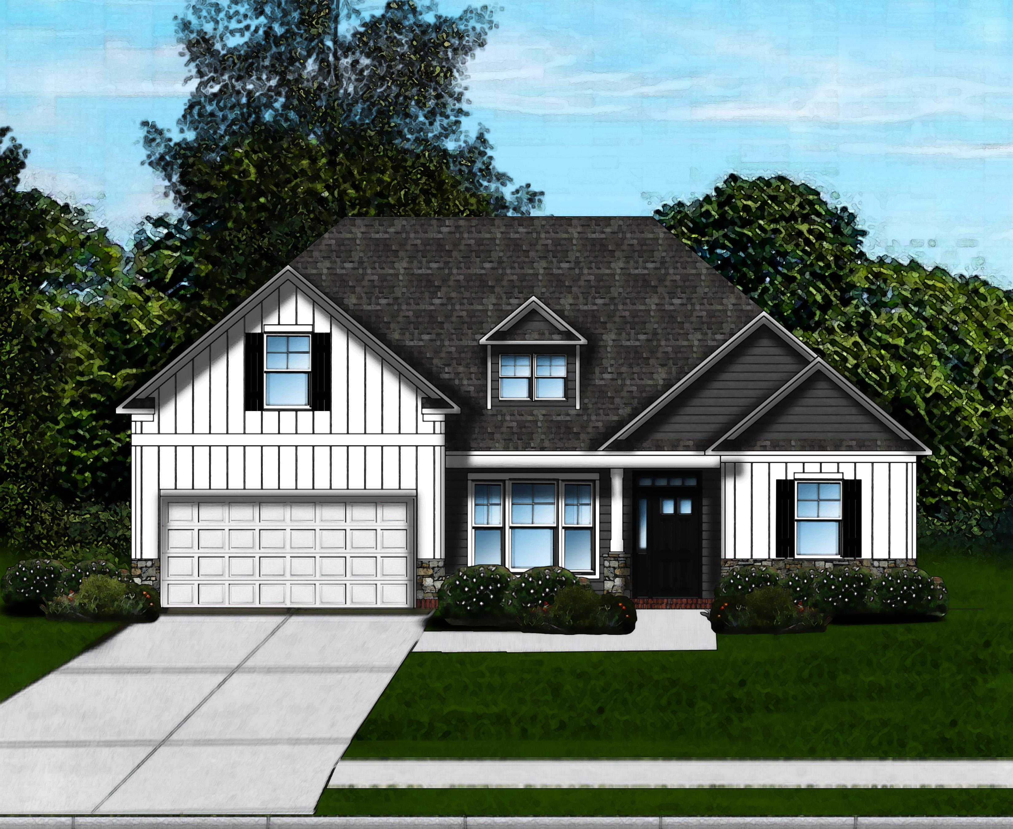 Exterior featured in the Carol B By Great Southern Homes in Greenville-Spartanburg, SC