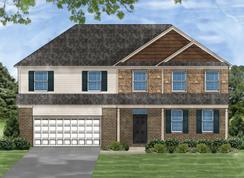 Beaumont B - Braemar Knoll: Greer, South Carolina - Great Southern Homes