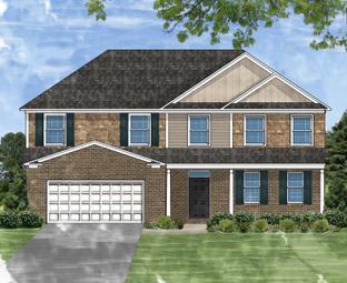 Beaumont C - Braemar Knoll: Greer, South Carolina - Great Southern Homes