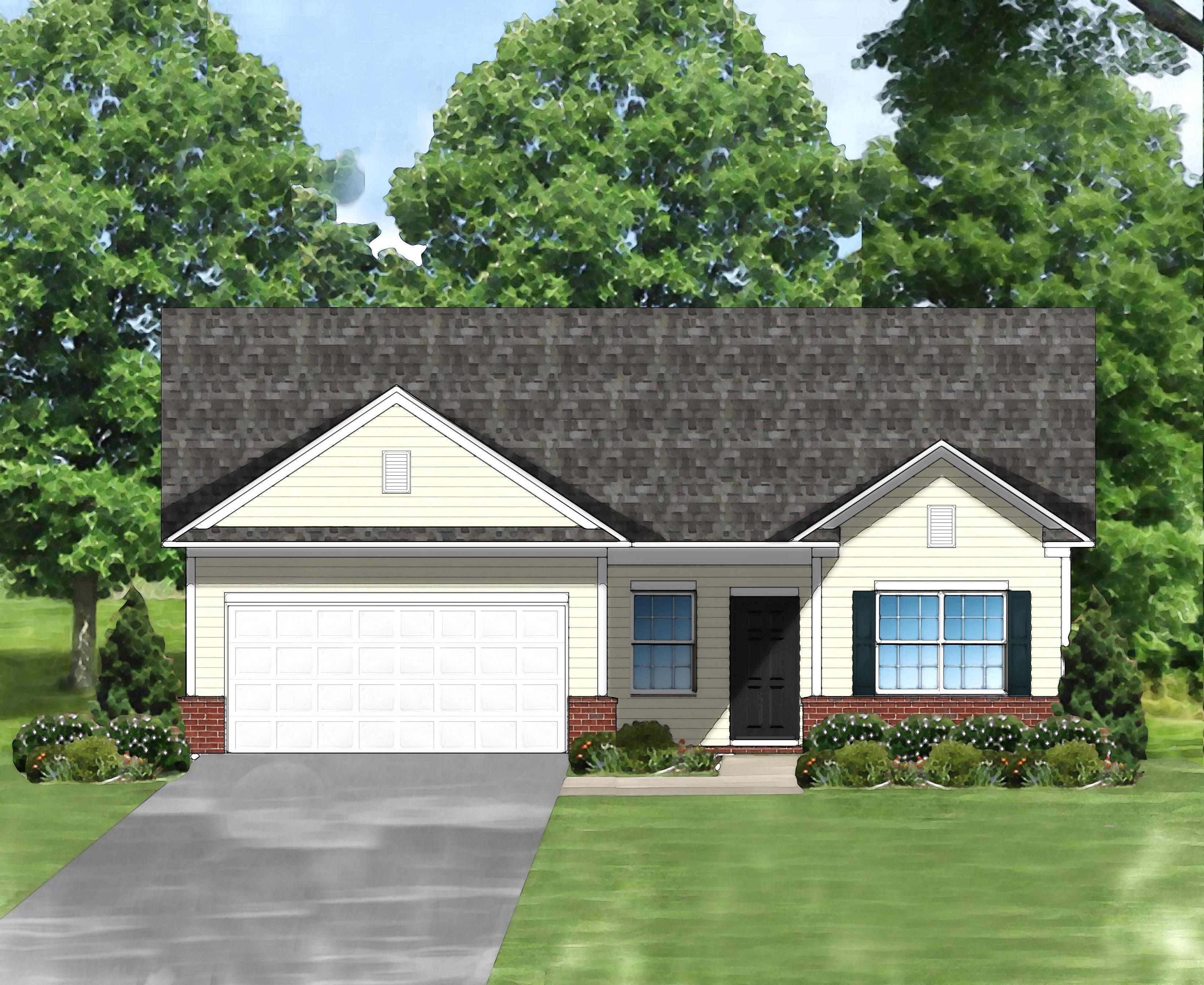 Exterior featured in the Dahlia A By Great Southern Homes in Myrtle Beach, SC