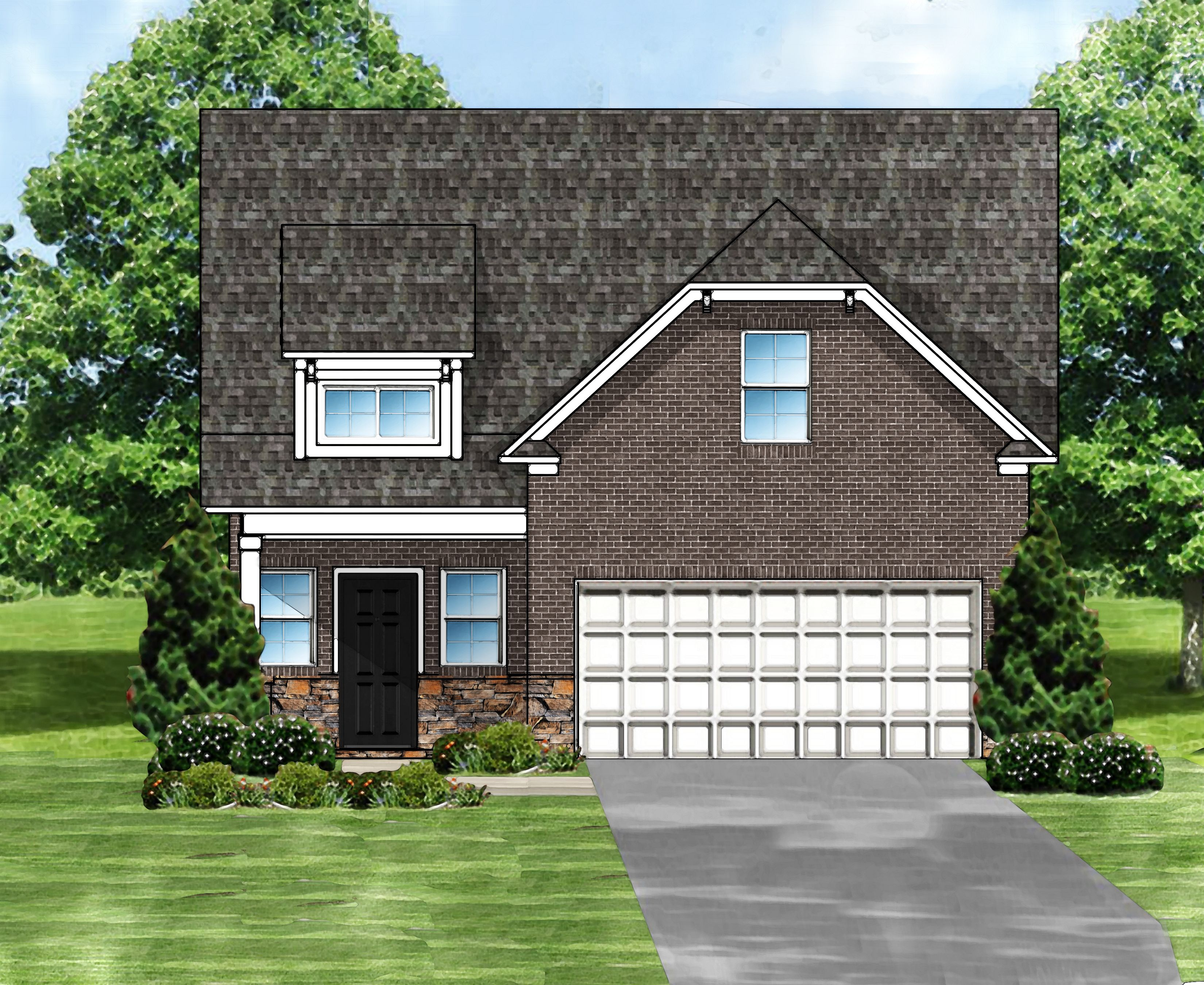 Exterior featured in the Sabel C4 By Great Southern Homes in Sumter, SC