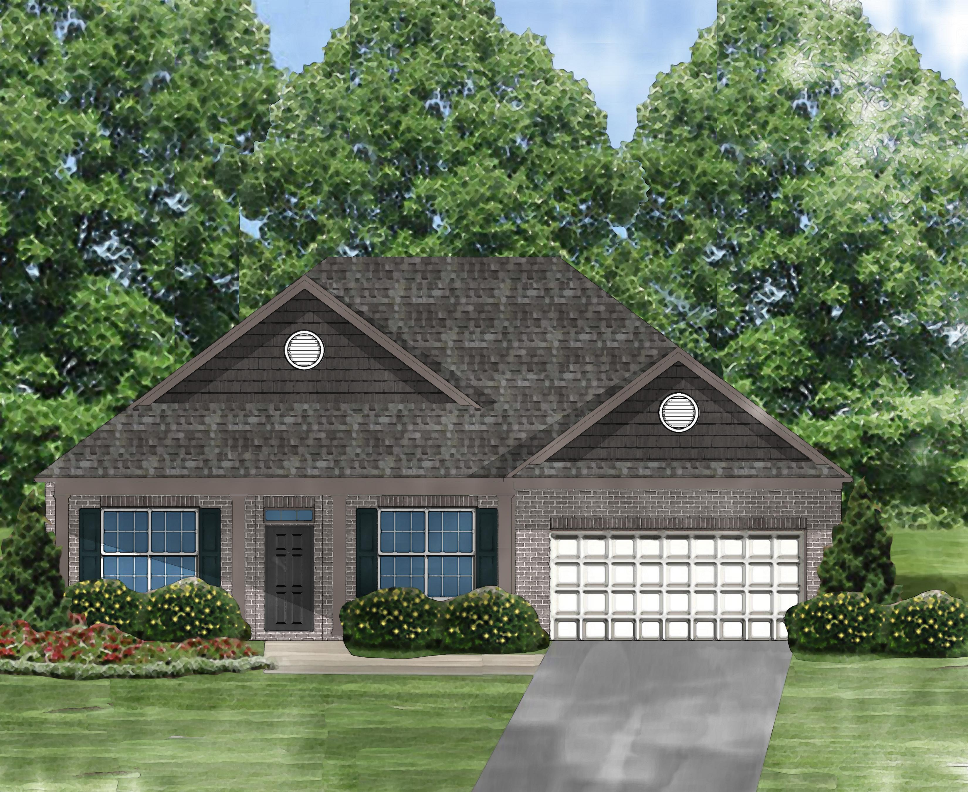 Exterior featured in the Gardenia A By Great Southern Homes in Myrtle Beach, SC