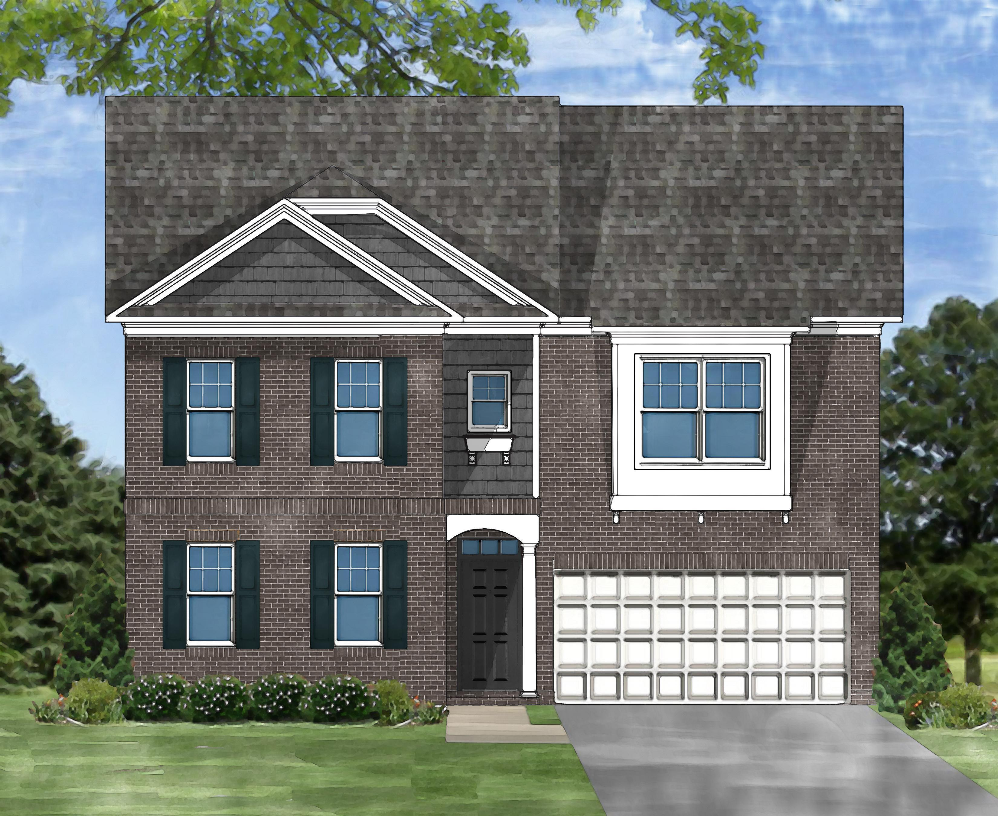 Exterior featured in the Devereaux E By Great Southern Homes in Sumter, SC