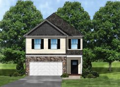 Hidden Creek B - Winterbrook: Fountain Inn, South Carolina - Great Southern Homes
