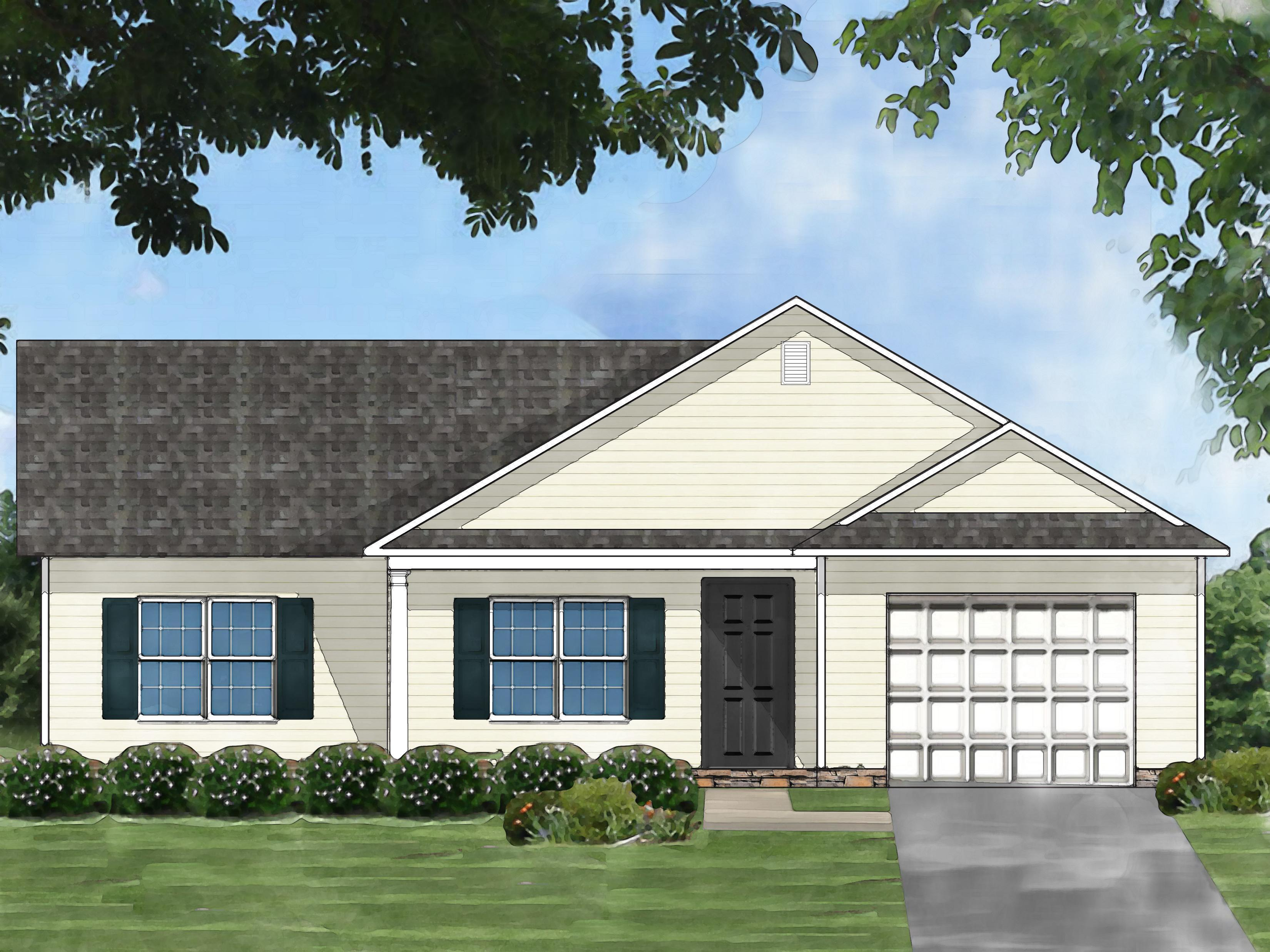 Exterior featured in the Pocono B By Great Southern Homes in Greenville-Spartanburg, SC