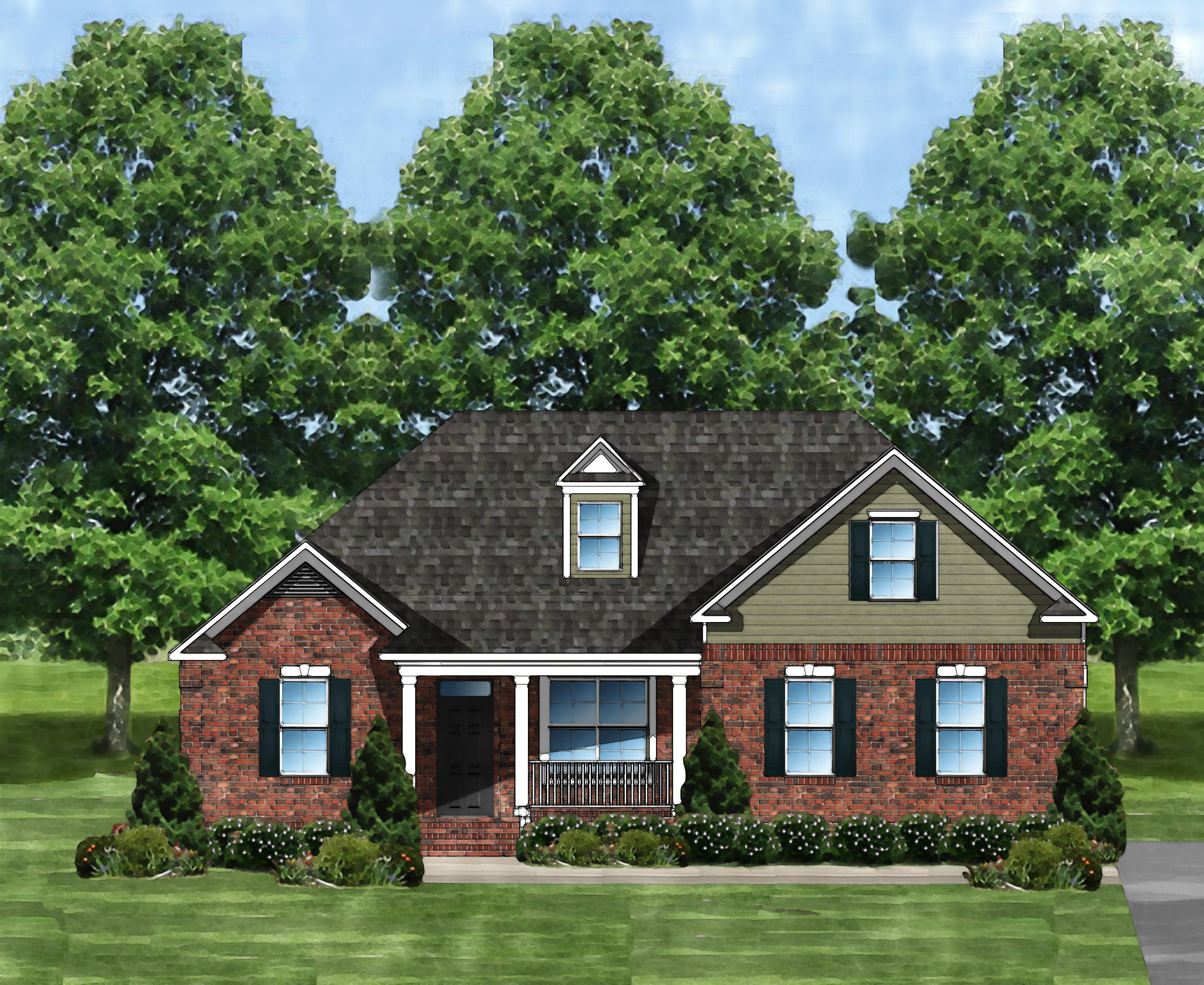Exterior featured in the Edisto F By Great Southern Homes in Columbia, SC