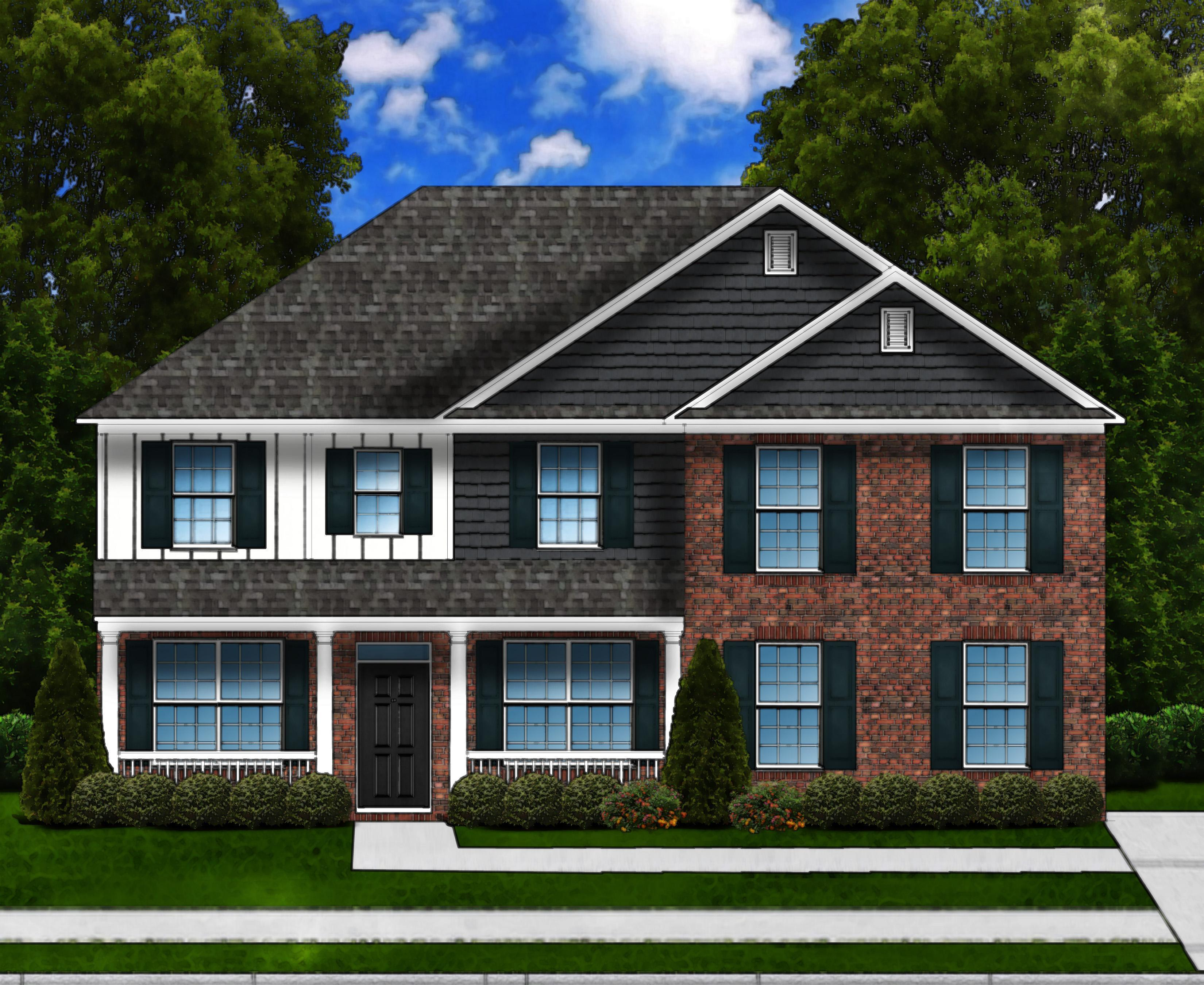 Exterior featured in the Linwood D SL By Great Southern Homes in Columbia, SC