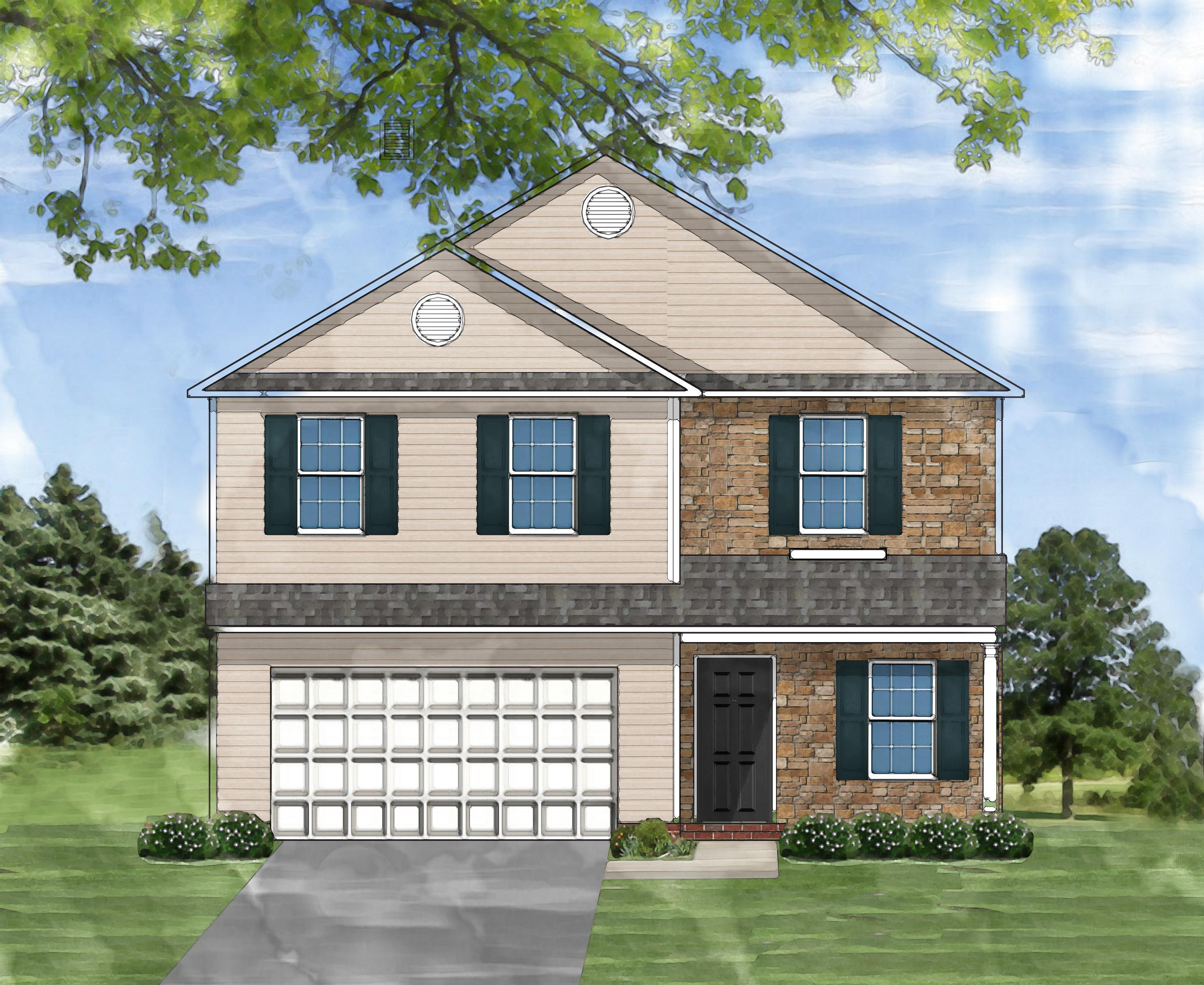Exterior featured in the Hatfield E By Great Southern Homes in Columbia, SC