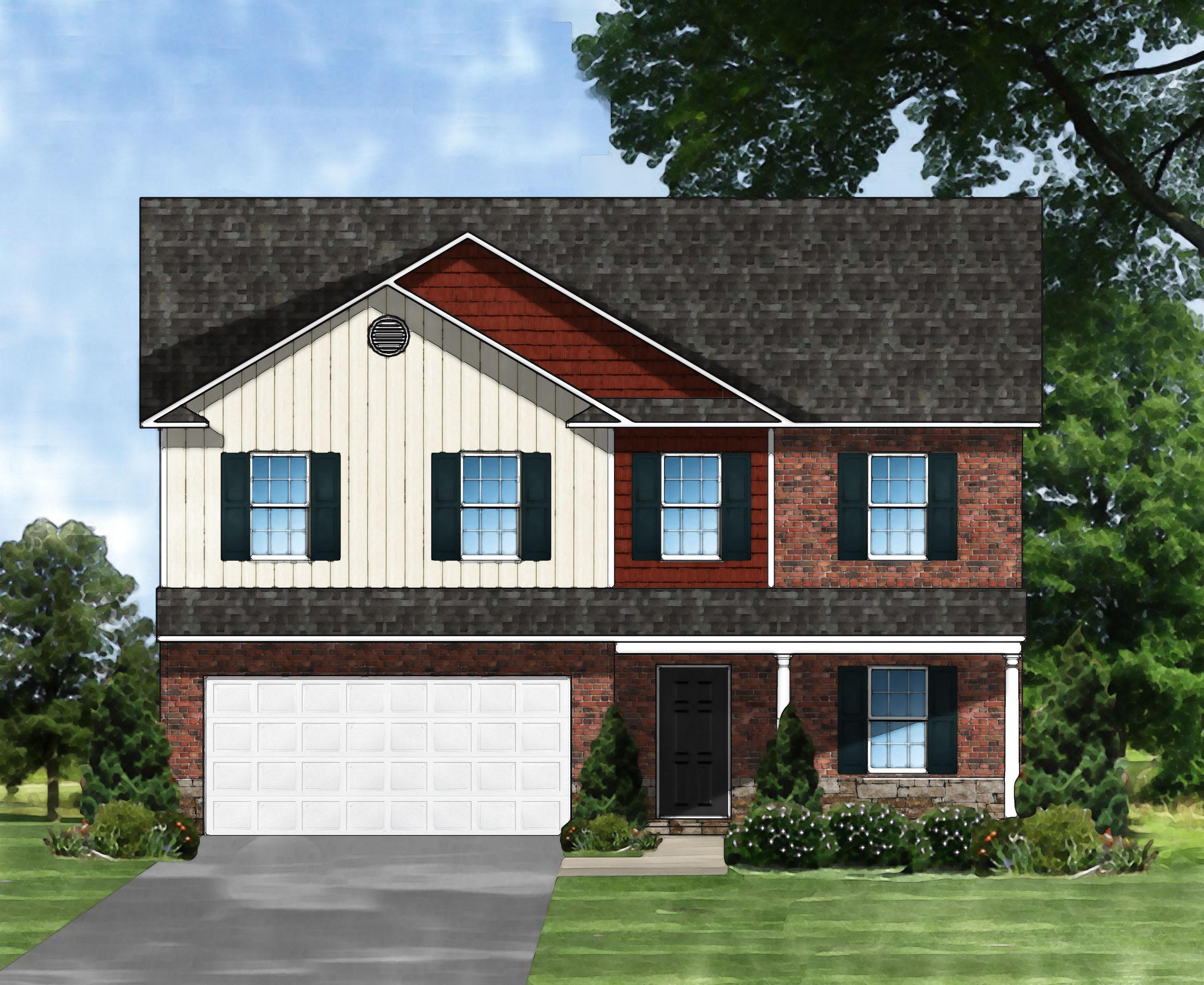Exterior featured in the Davenport II A4 By Great Southern Homes in Sumter, SC
