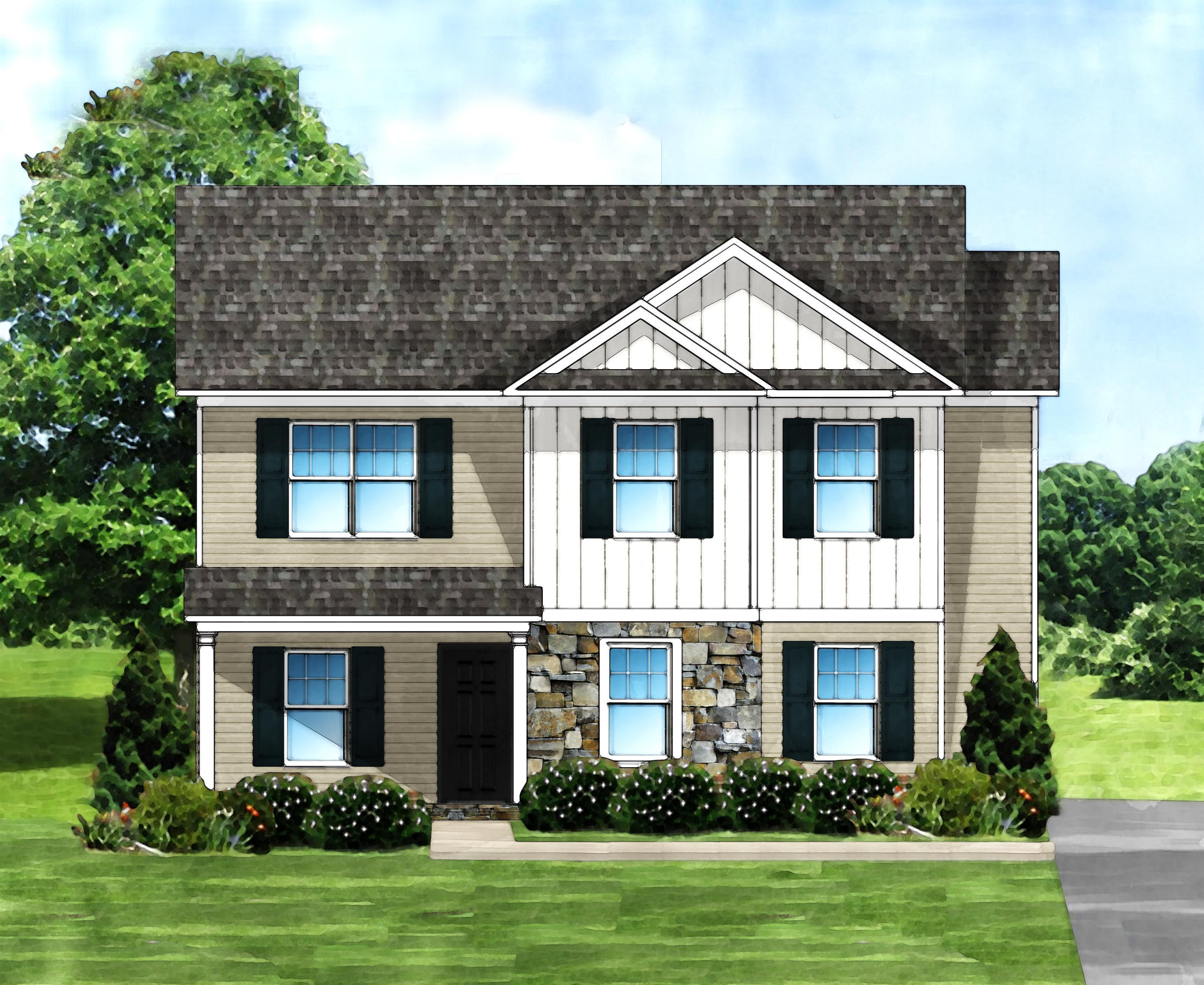 Exterior featured in the Lindler A By Great Southern Homes in Columbia, SC