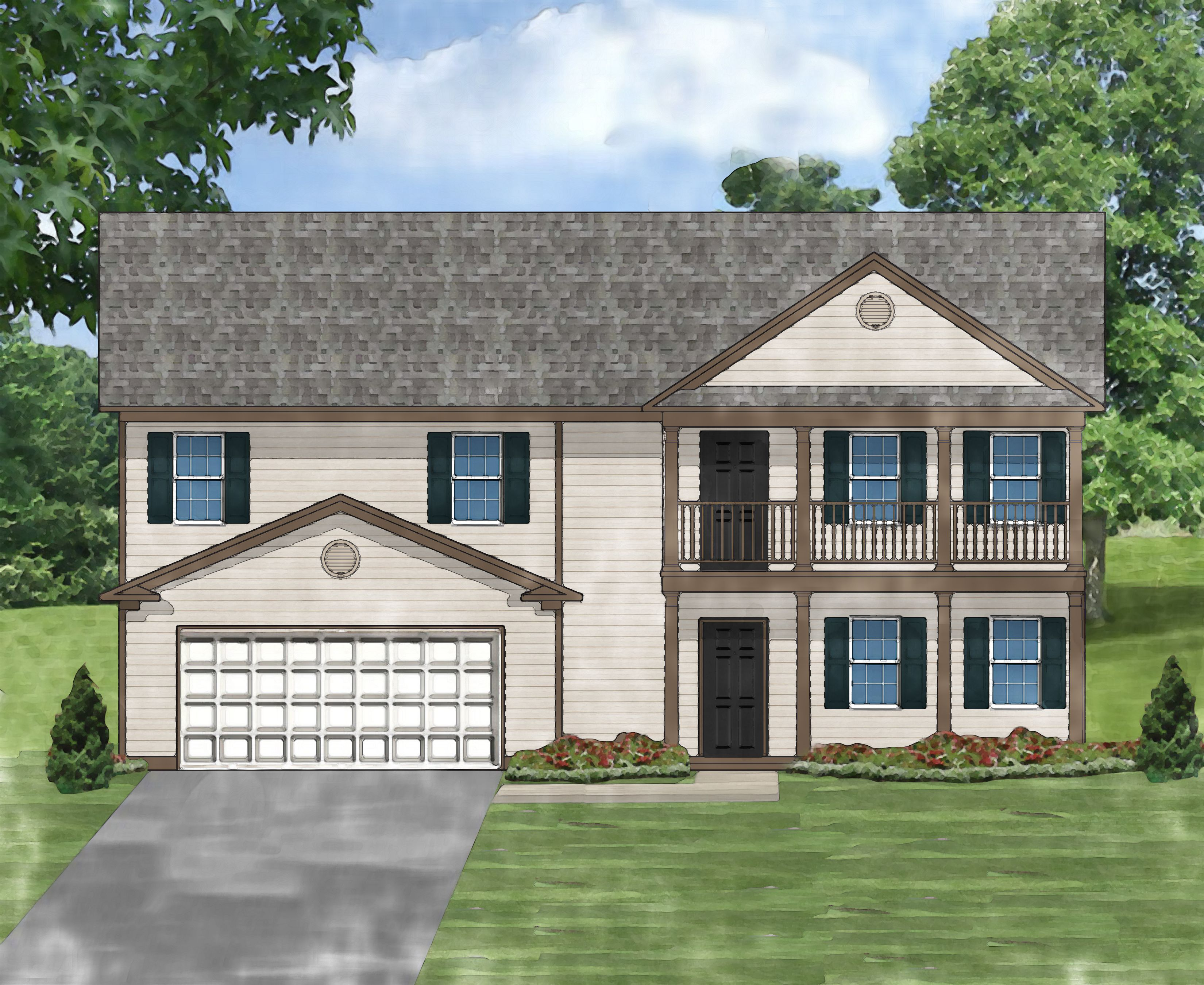 Exterior featured in the Beaujolais C By Great Southern Homes in Sumter, SC
