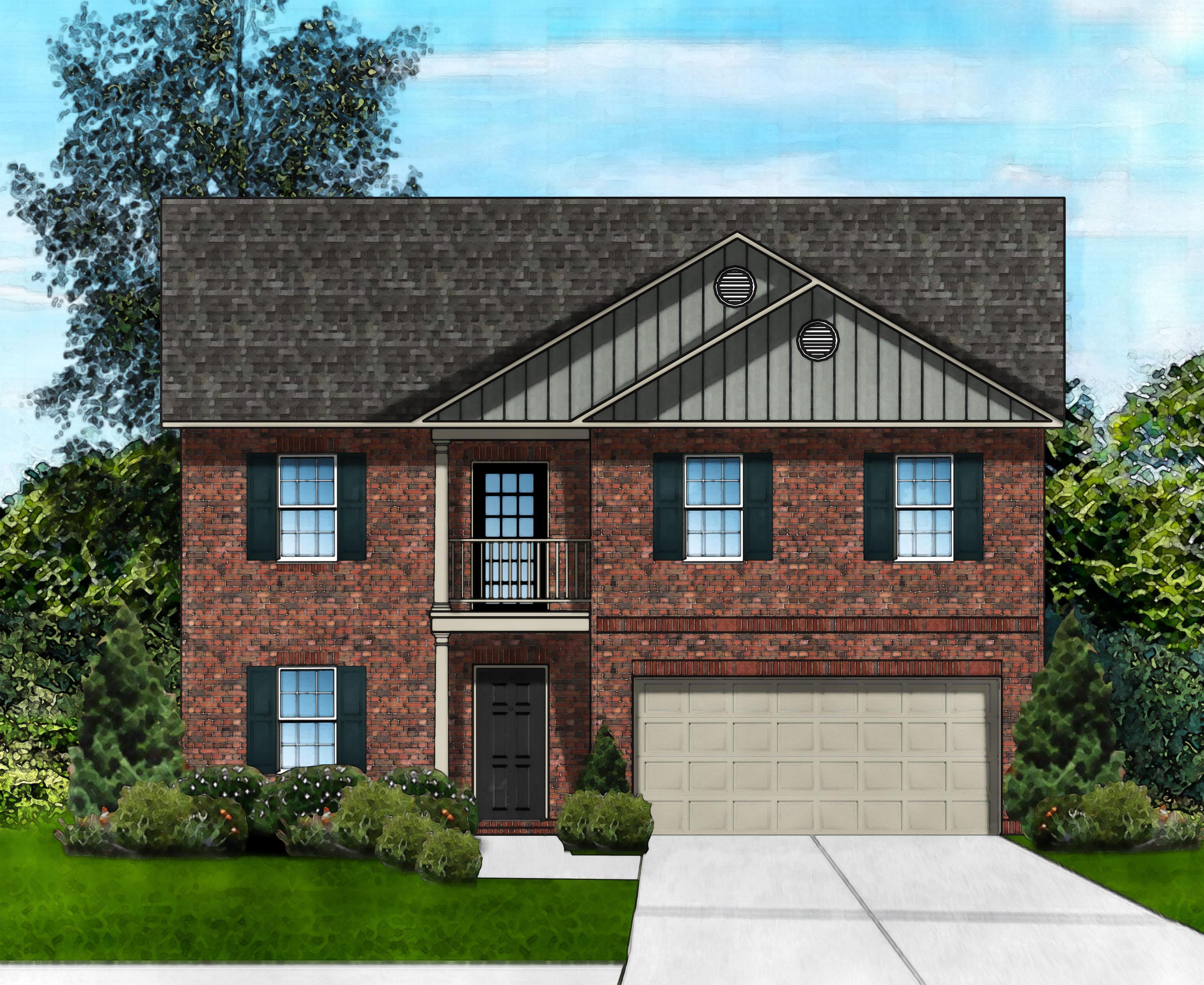 Exterior featured in the Davenport Z2 By Great Southern Homes in Florence, SC