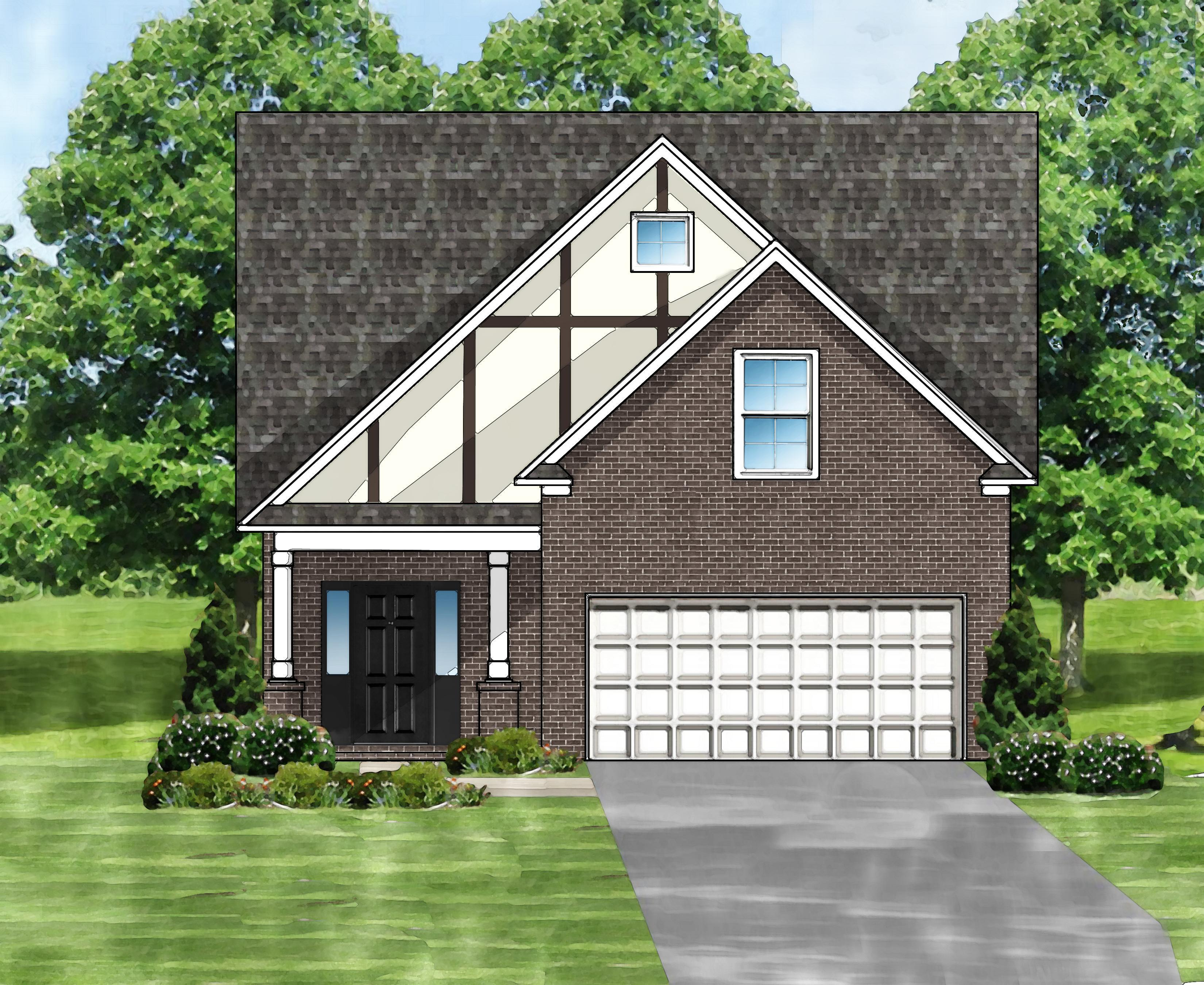 Exterior featured in the Sabel B2 (Brick Front) By Great Southern Homes in Florence, SC