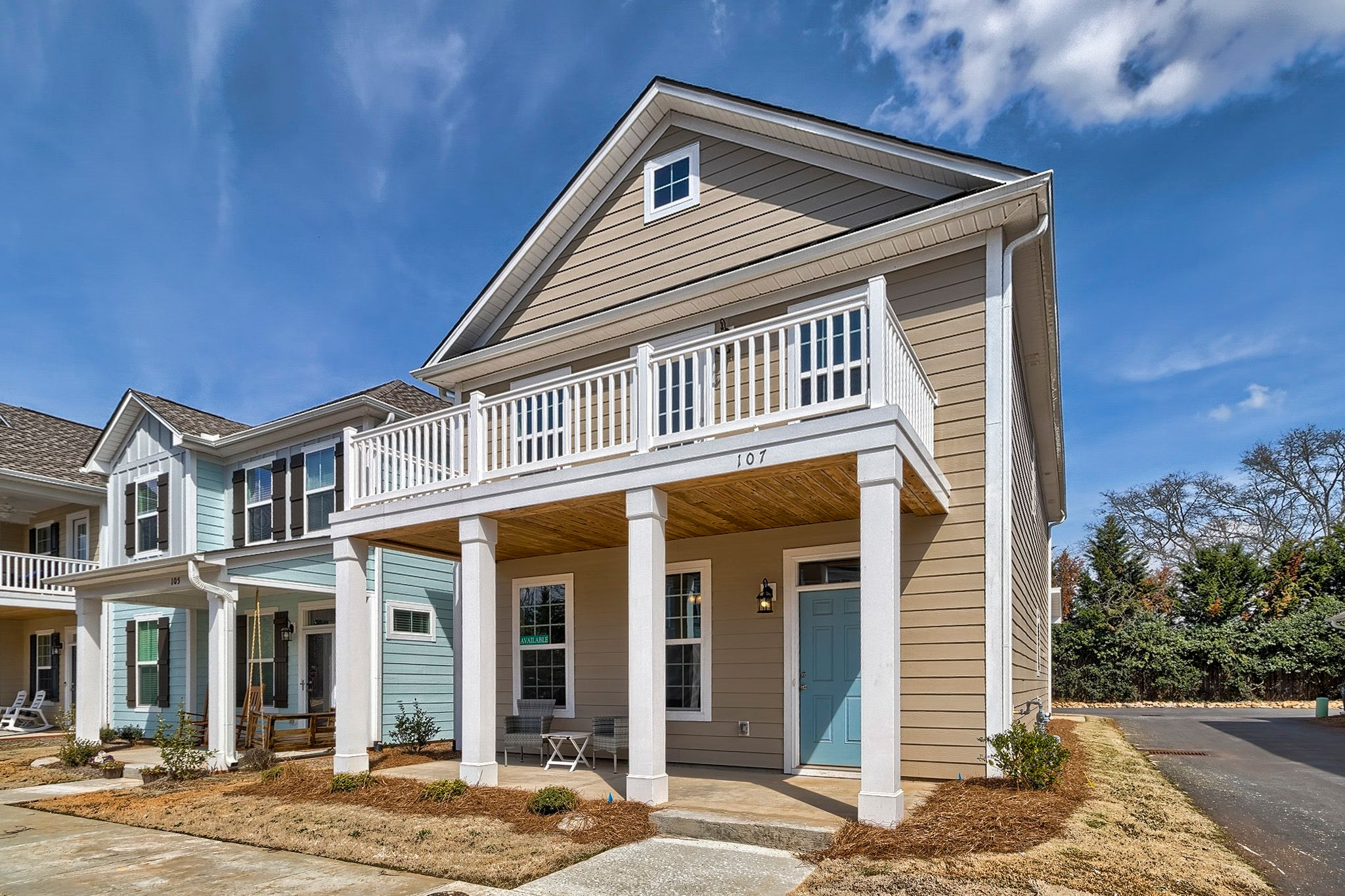 Exterior featured in the Madison C By Great Southern Homes in Greenville-Spartanburg, SC