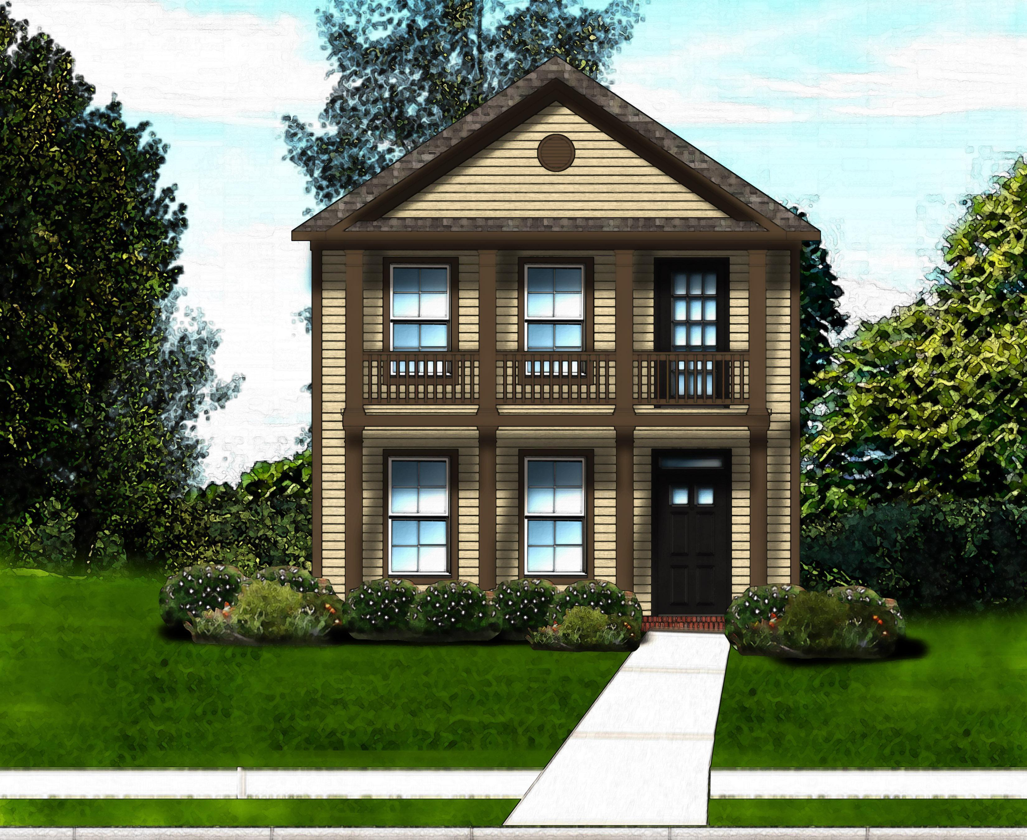 Exterior featured in the Madison D By Great Southern Homes in Sumter, SC