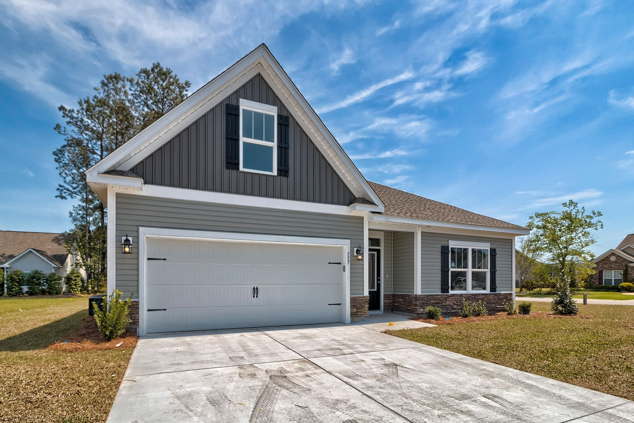 Exterior featured in the Julie B By Great Southern Homes in Myrtle Beach, SC