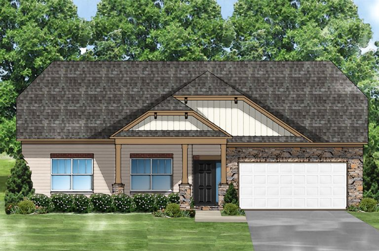 Exterior featured in the Camellia C w/Bonus By Great Southern Homes in Myrtle Beach, SC