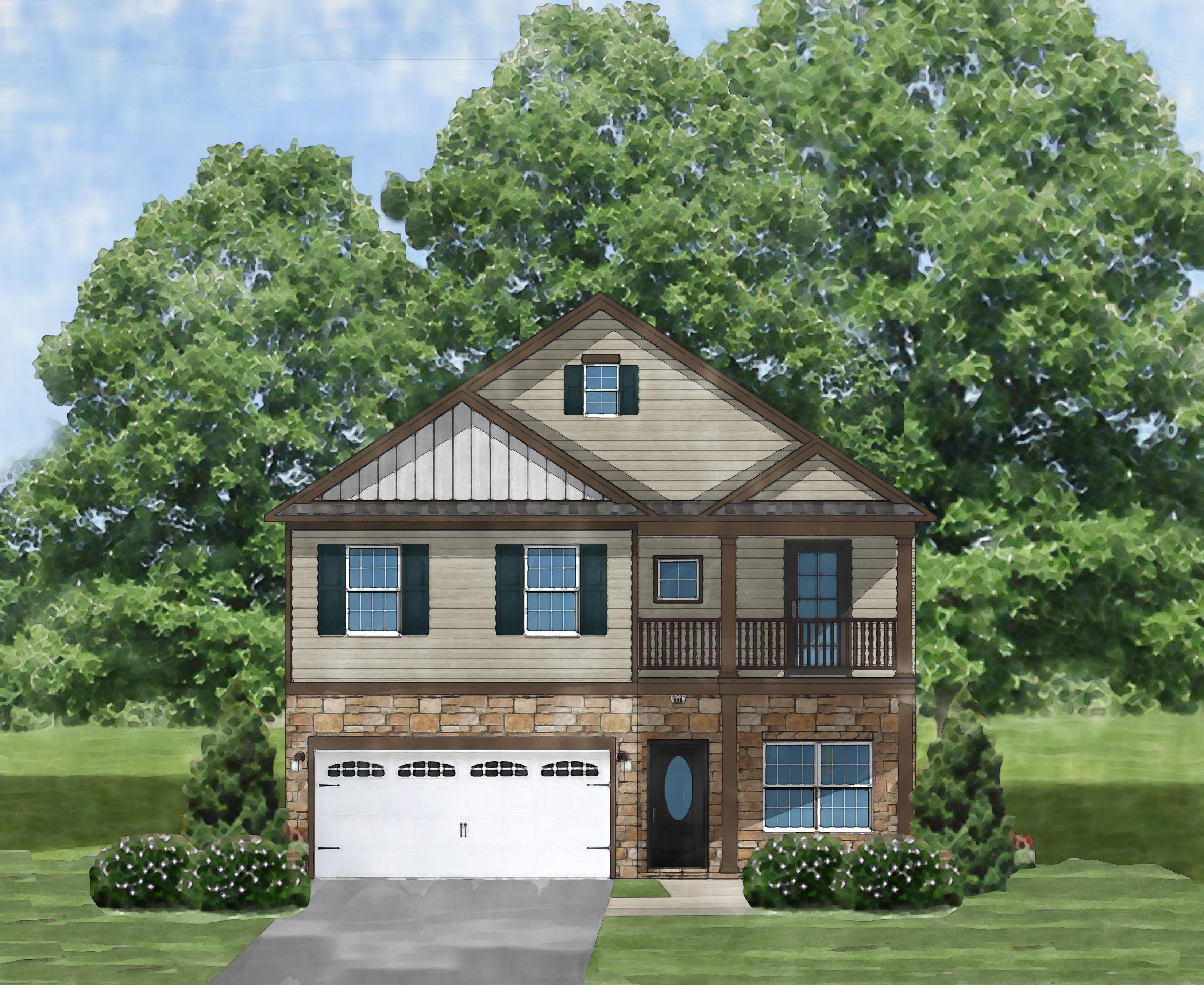 Exterior featured in the Kingstree C By Great Southern Homes in Florence, SC