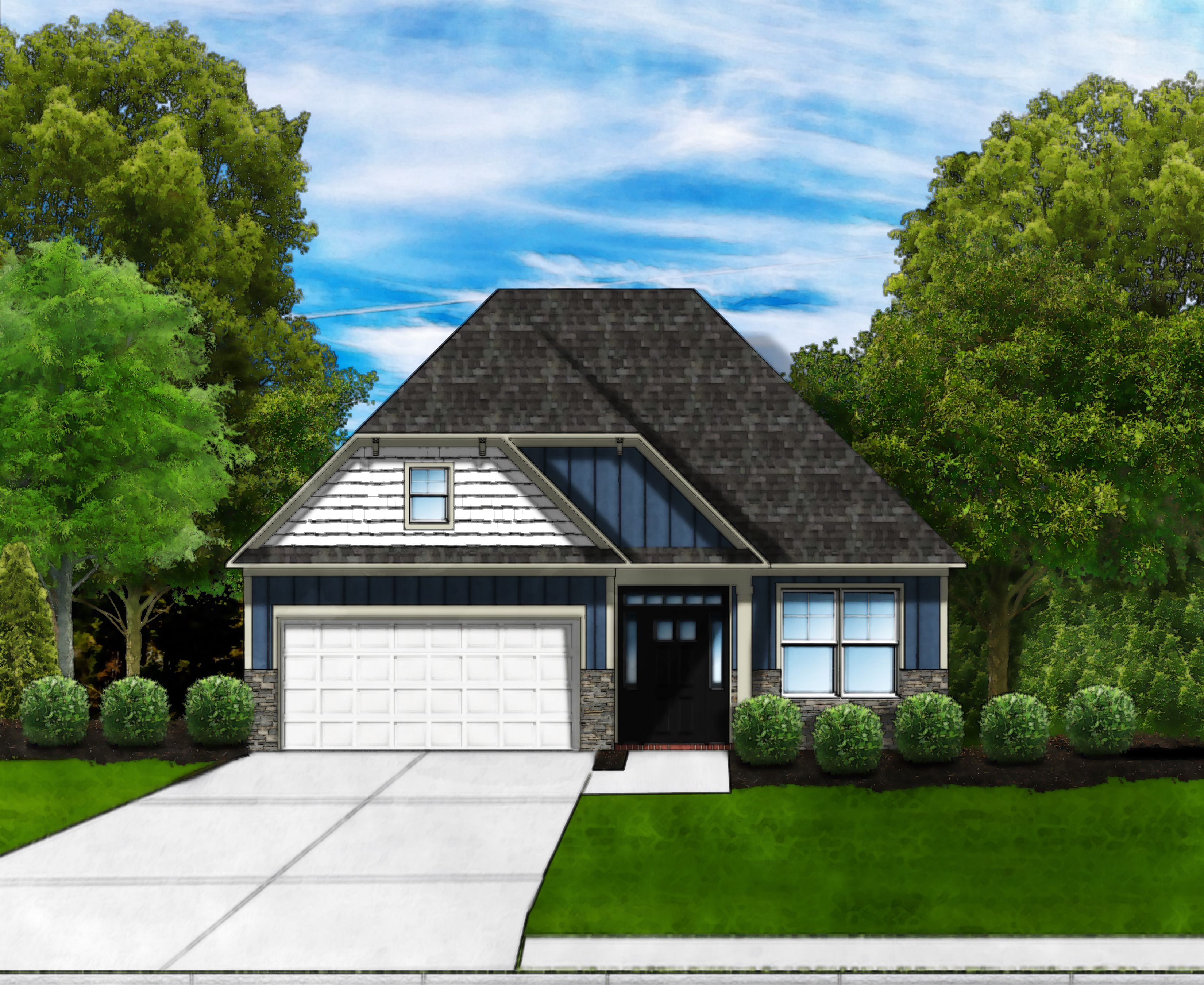 Exterior featured in the Talbot C By Great Southern Homes in Myrtle Beach, SC