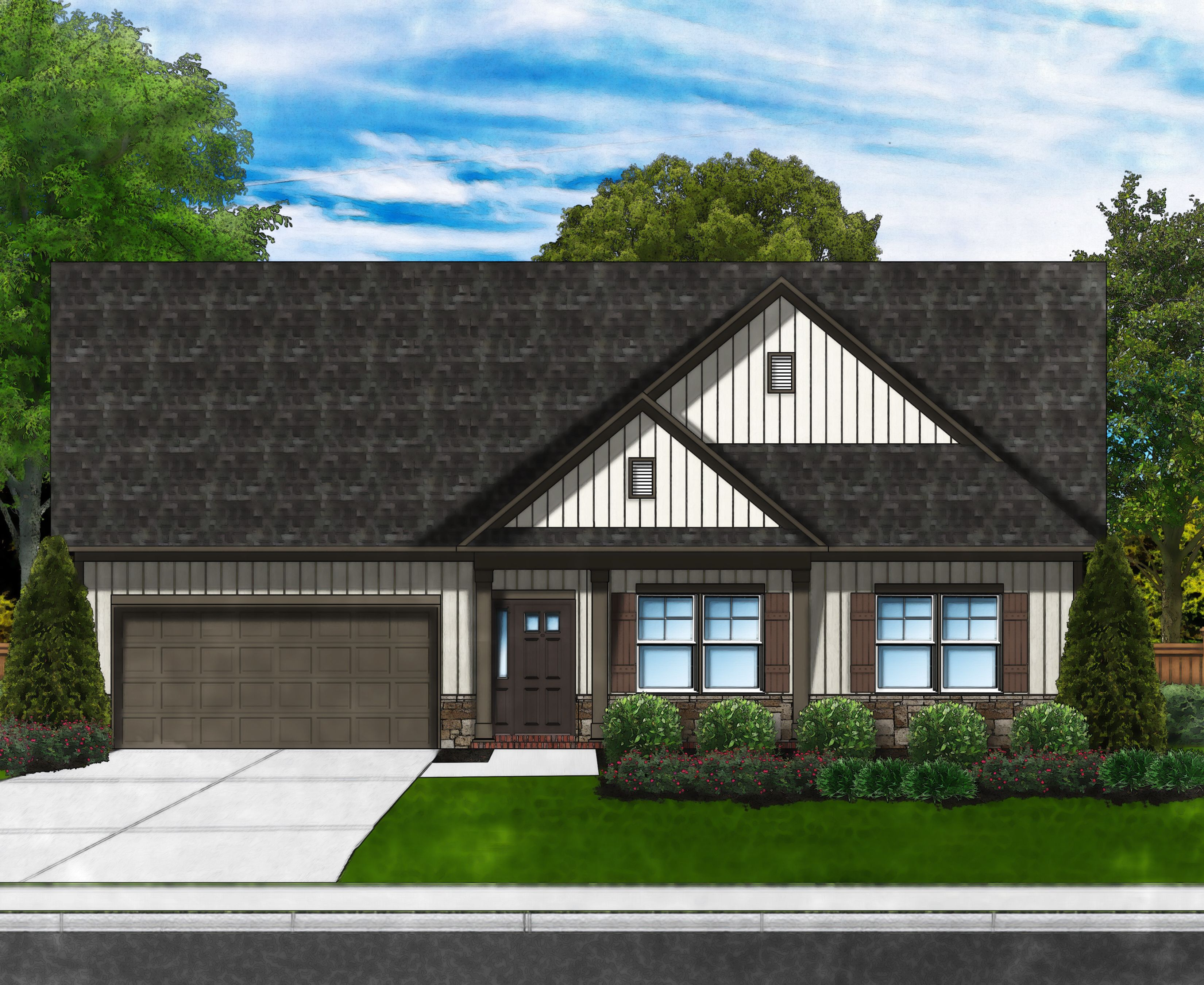Exterior featured in the Camellia D6 w/Bonus By Great Southern Homes in Myrtle Beach, SC