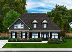 Azalea A3 (Brick Sides & Rear) - Cross Creek Plantation: Seneca, South Carolina - Great Southern Homes