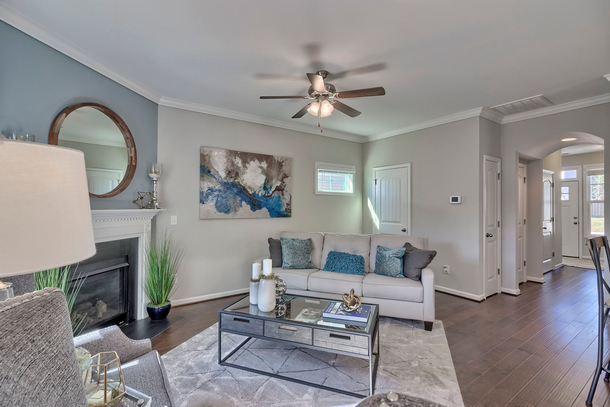 Living Area featured in the Laurel A By Great Southern Homes in Columbia, SC