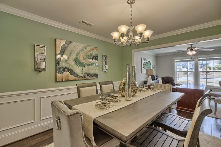 Living Area featured in the Devonshire A By Great Southern Homes in Sumter, SC