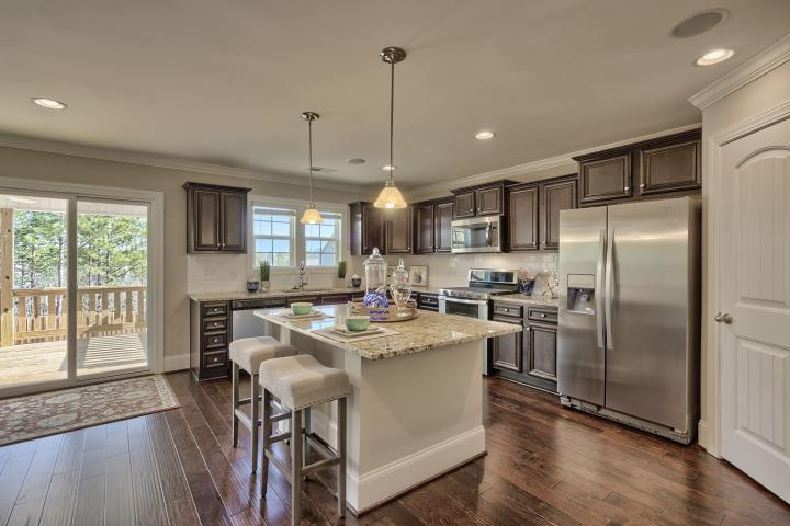 Kitchen featured in the Devonshire A By Great Southern Homes in Sumter, SC
