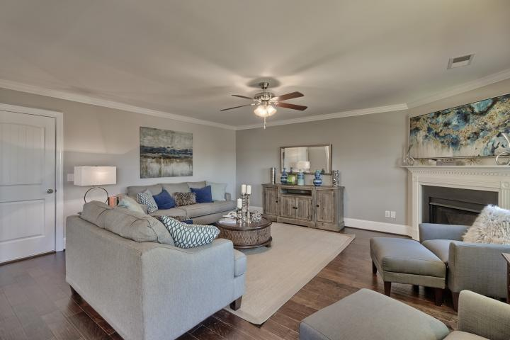 Living Area featured in the Devonshire B By Great Southern Homes in Sumter, SC