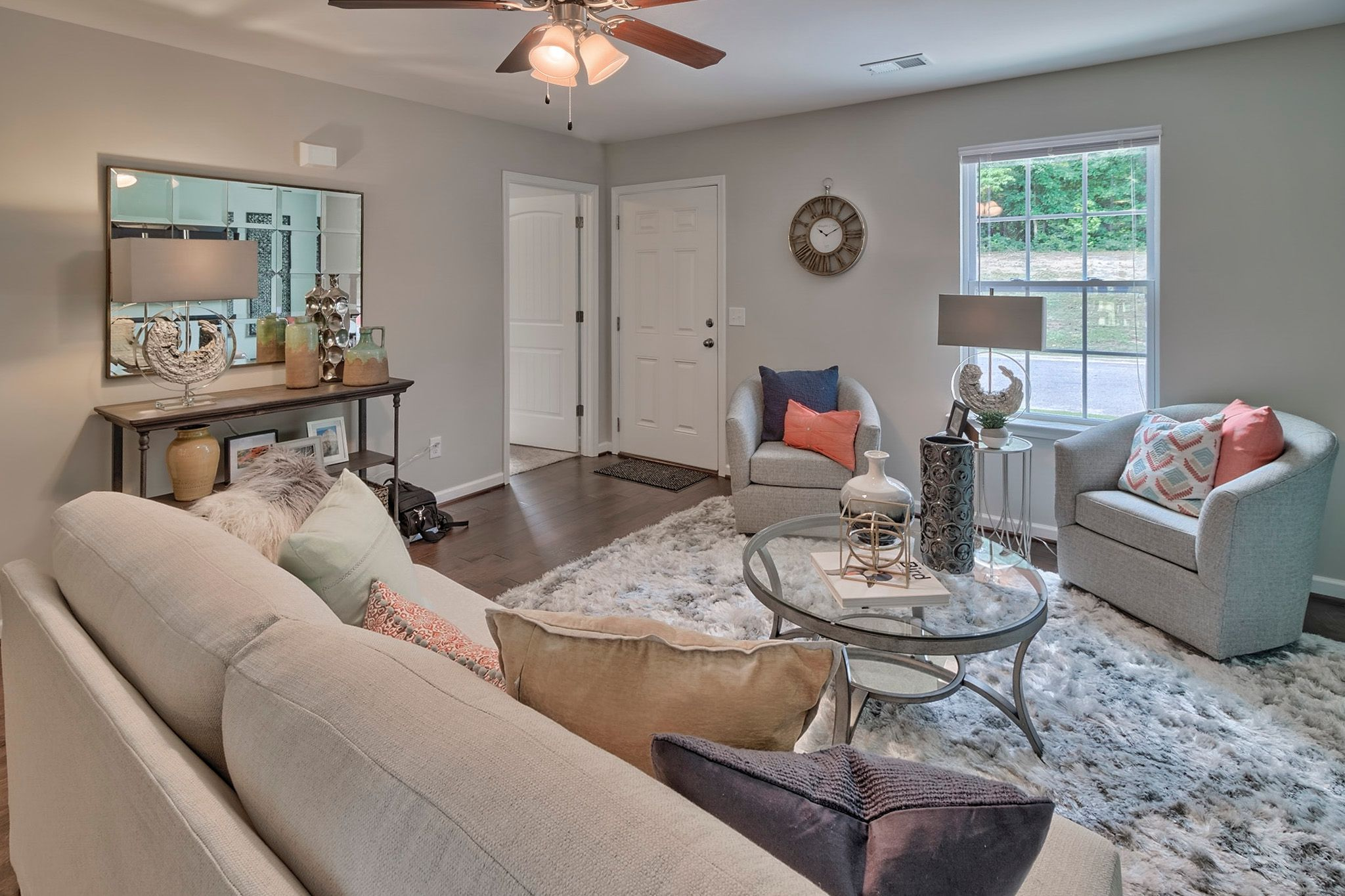 Living Area featured in the Regal F By Great Southern Homes in Sumter, SC
