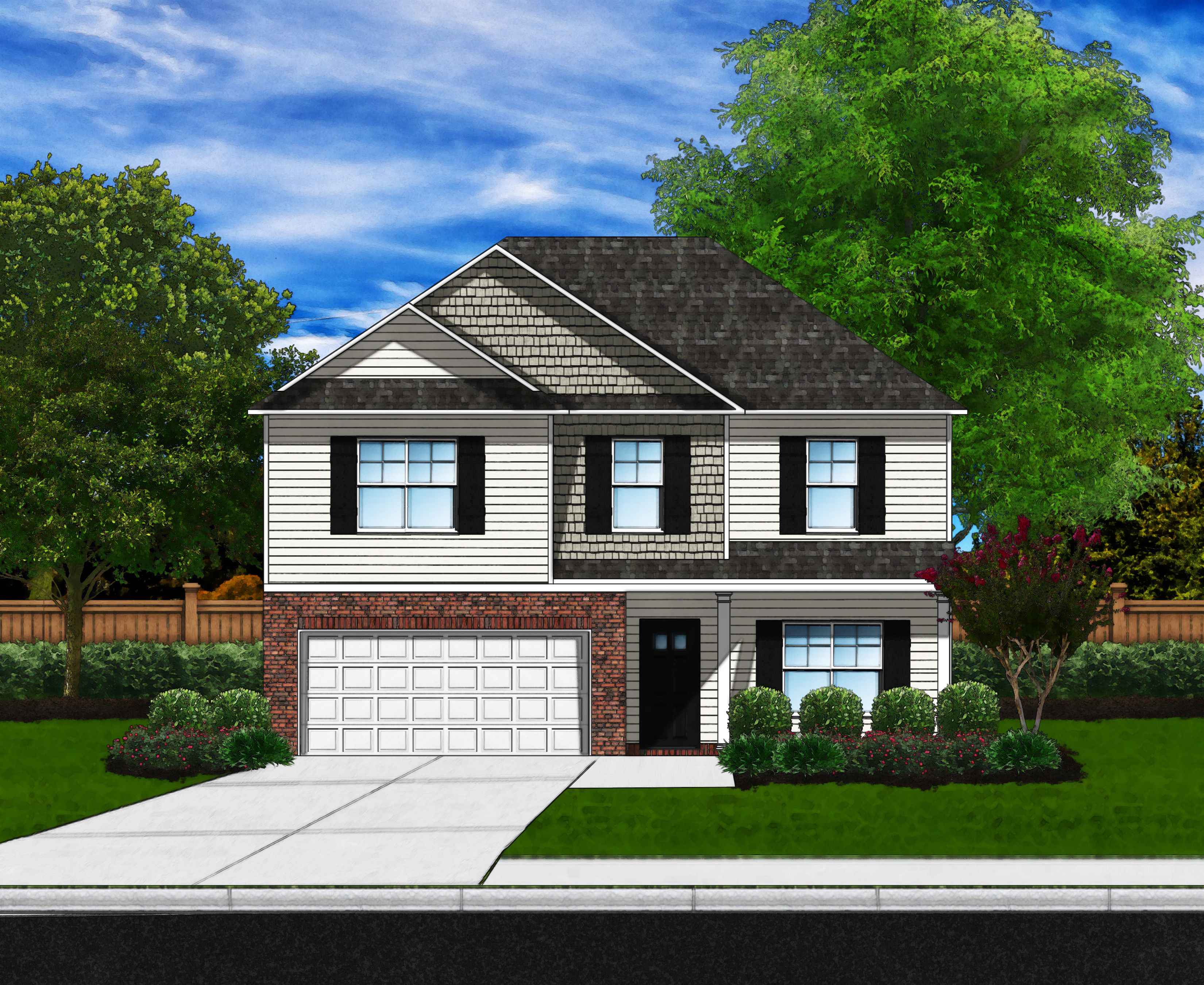 Exterior featured in the Bradley B By Great Southern Homes in Columbia, SC