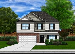 Bradley B - Winterbrook: Fountain Inn, South Carolina - Great Southern Homes