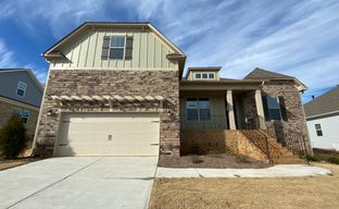 Cross Creek Plantation by Great Southern Homes in Greenville-Spartanburg South Carolina