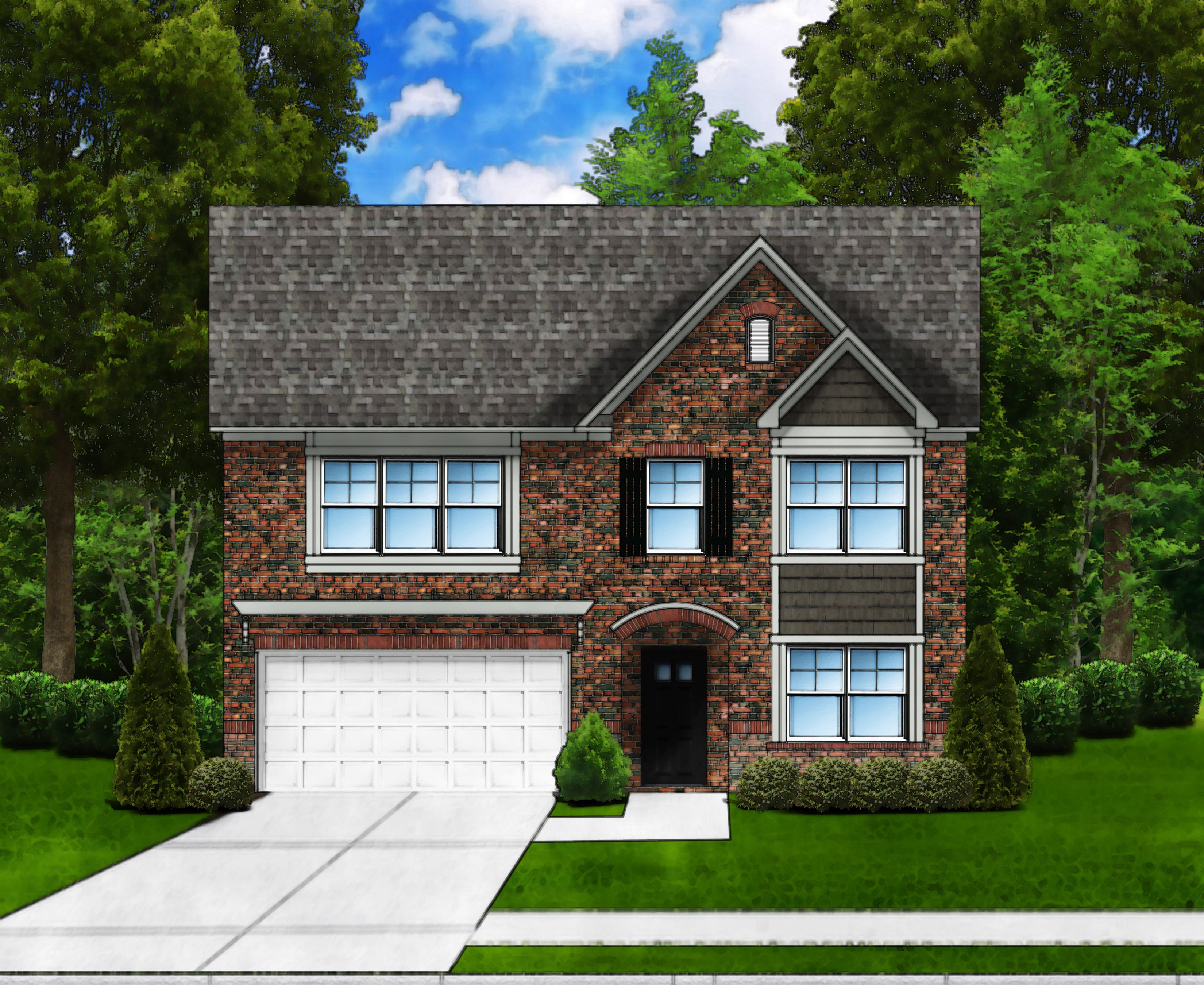 Exterior featured in the Porter II D4 By Great Southern Homes in Sumter, SC