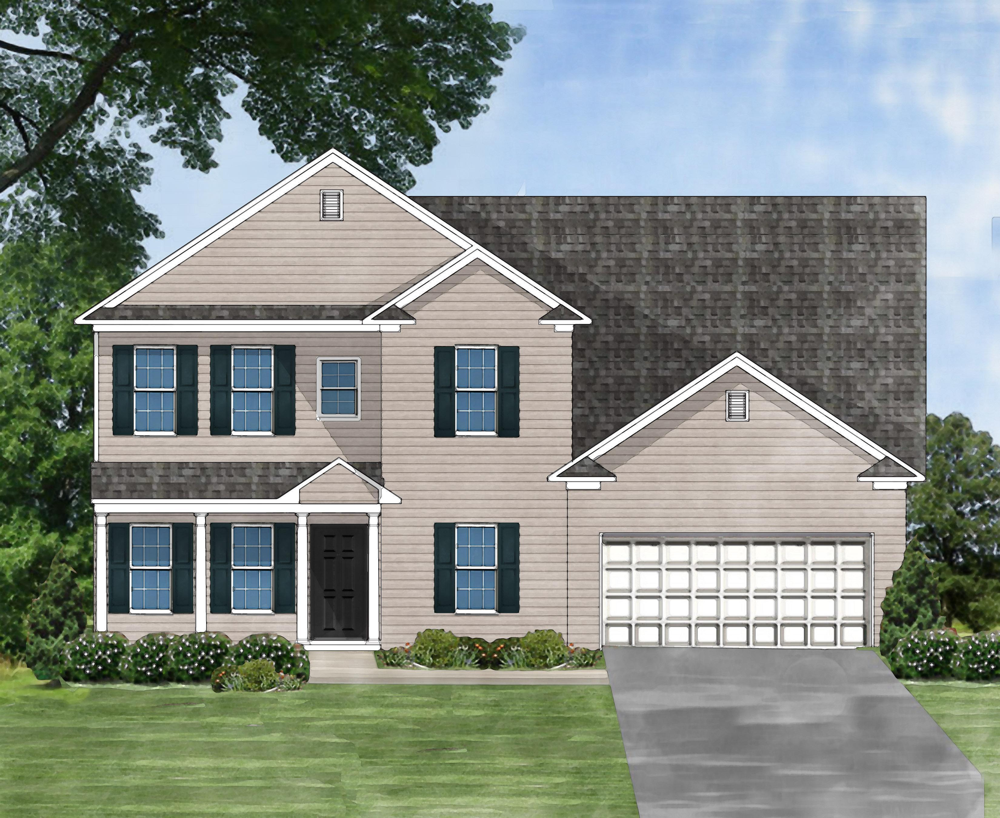 Exterior featured in the Sonoma B By Great Southern Homes in Greenville-Spartanburg, SC