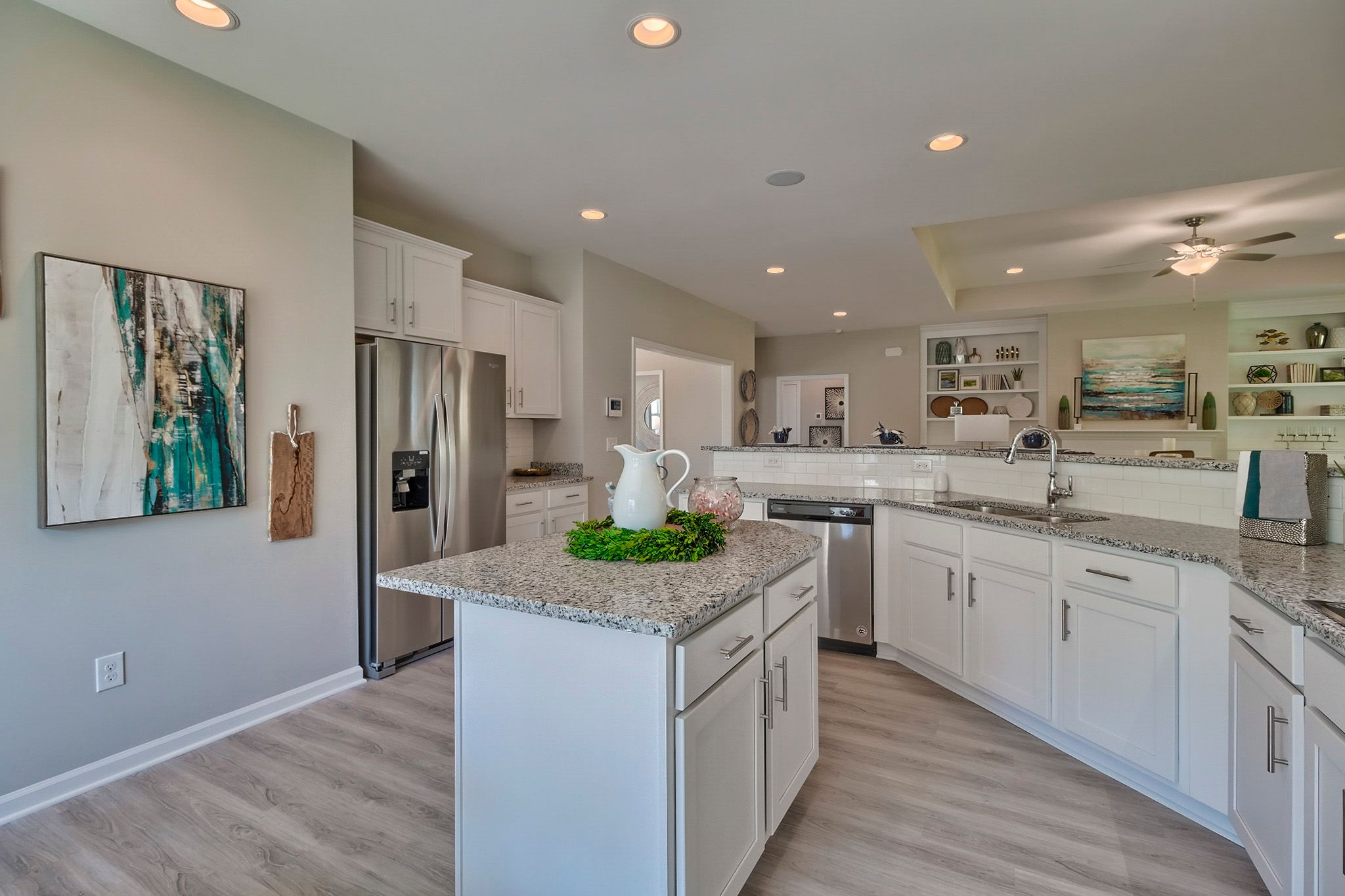Kitchen featured in the Gardenia D By Great Southern Homes in Greenville-Spartanburg, SC