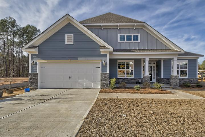 Exterior featured in the Magnolia D6 By Great Southern Homes in Greenville-Spartanburg, SC