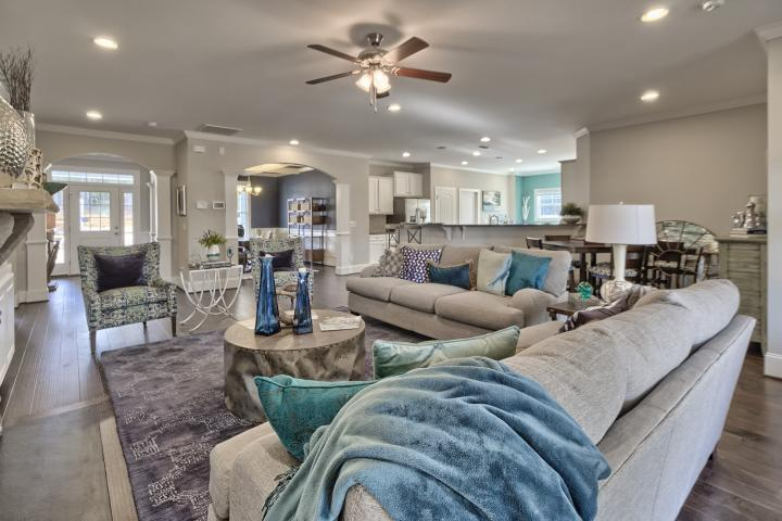 Living Area featured in the Magnolia D6 By Great Southern Homes in Greenville-Spartanburg, SC