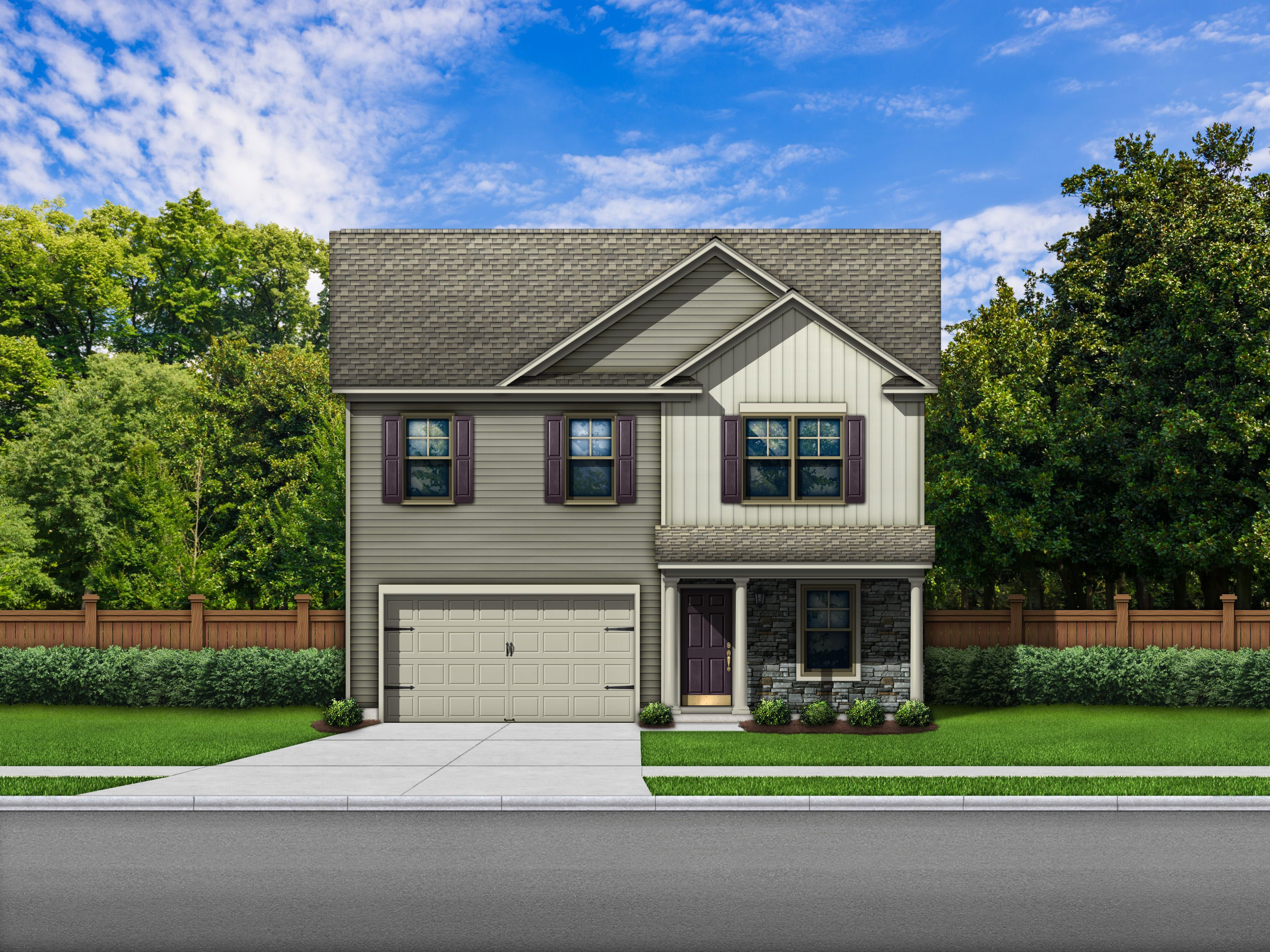 Exterior featured in the Bentgrass B By Great Southern Homes in Columbia, SC