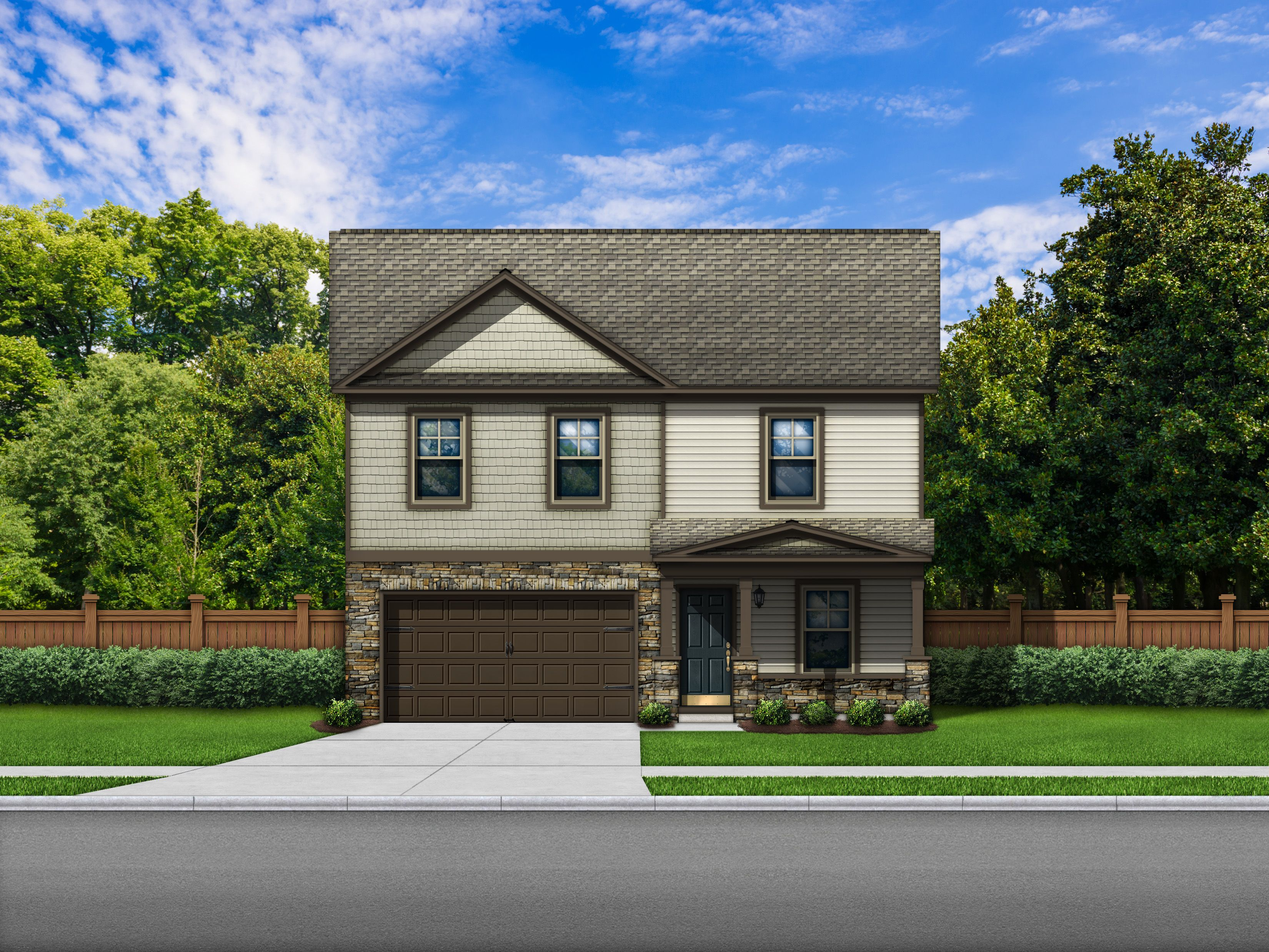 Exterior featured in the Bentgrass D By Great Southern Homes in Columbia, SC