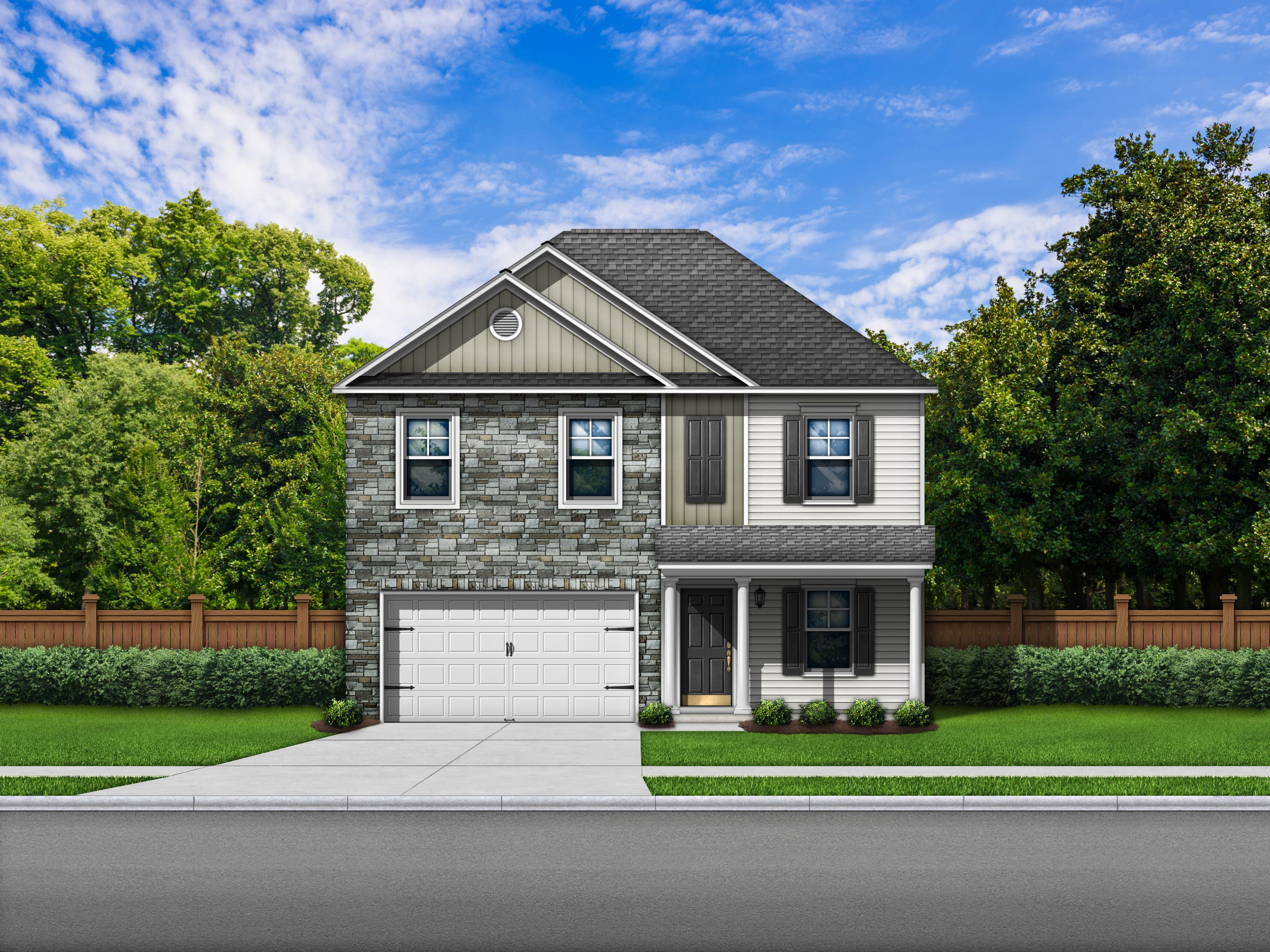 Exterior featured in the Bentgrass F By Great Southern Homes in Columbia, SC